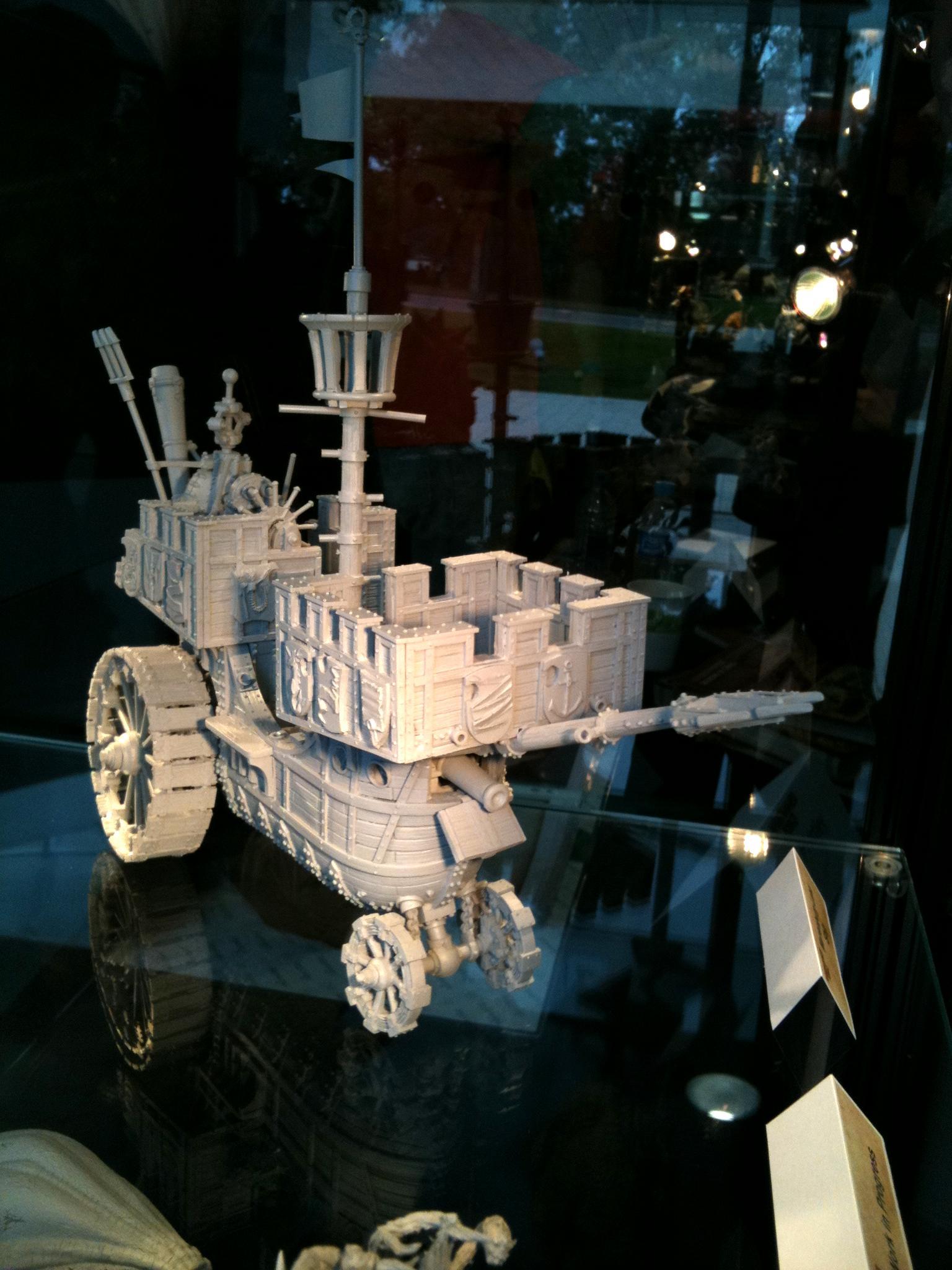Empire, Forge World, Games Workshop Copyright, Land Ship