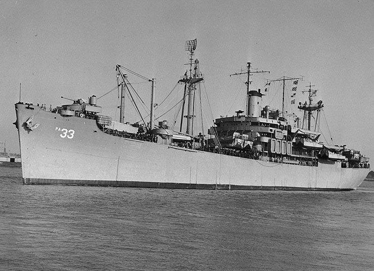 Bayfield, Bayfield Class Attack Transport, Lyndon Spencer, Mid-war, Transport, Uscg, Usn, World War 2