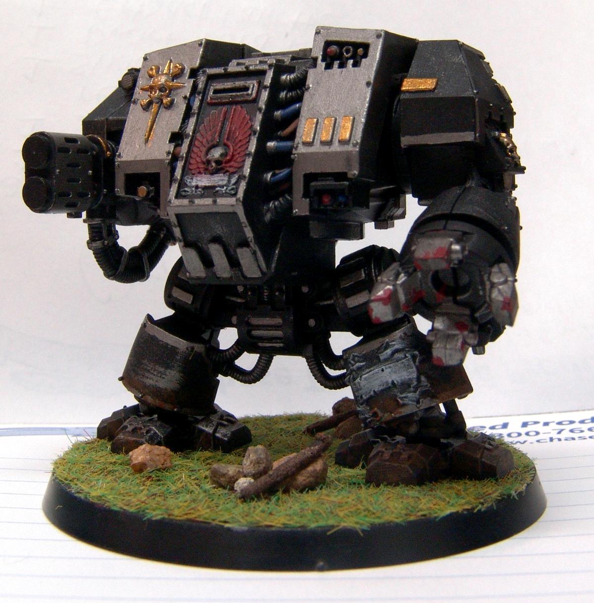 Base, Dreadnought, Gold, Grass, Gun Metal, Iron Hands, Rocks, Sticks