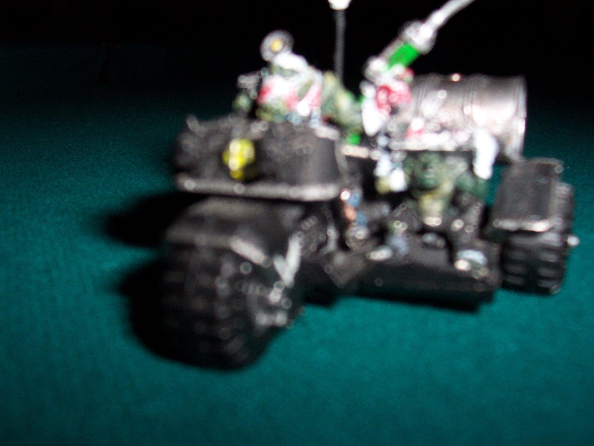 Bike, Blurred Photo, Mob, Nob