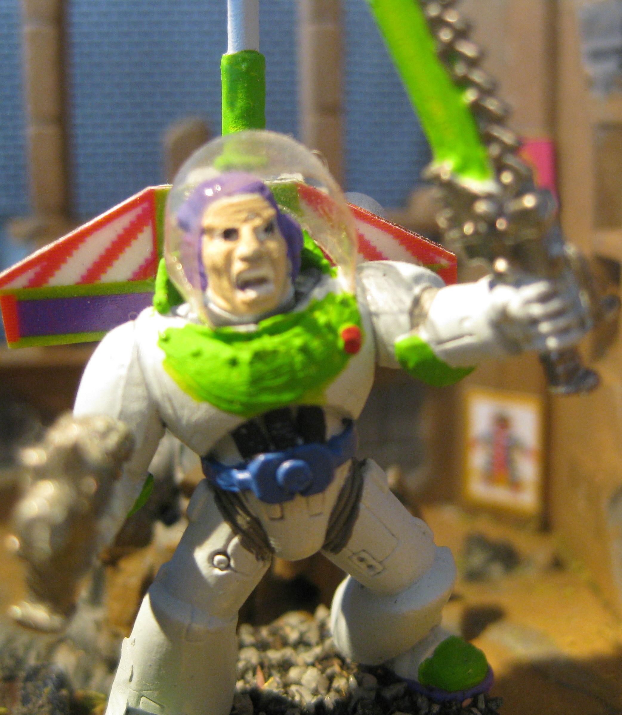 Buzz Lightyear, Cute, Disney, Humor, Space Marines
