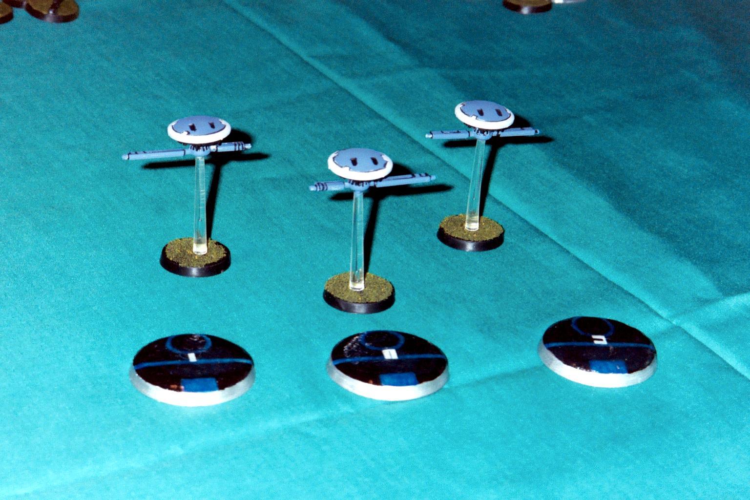 Blue, Drone, Marker, Messenger, Objective Marker, Tau, Warhammer 40,000
