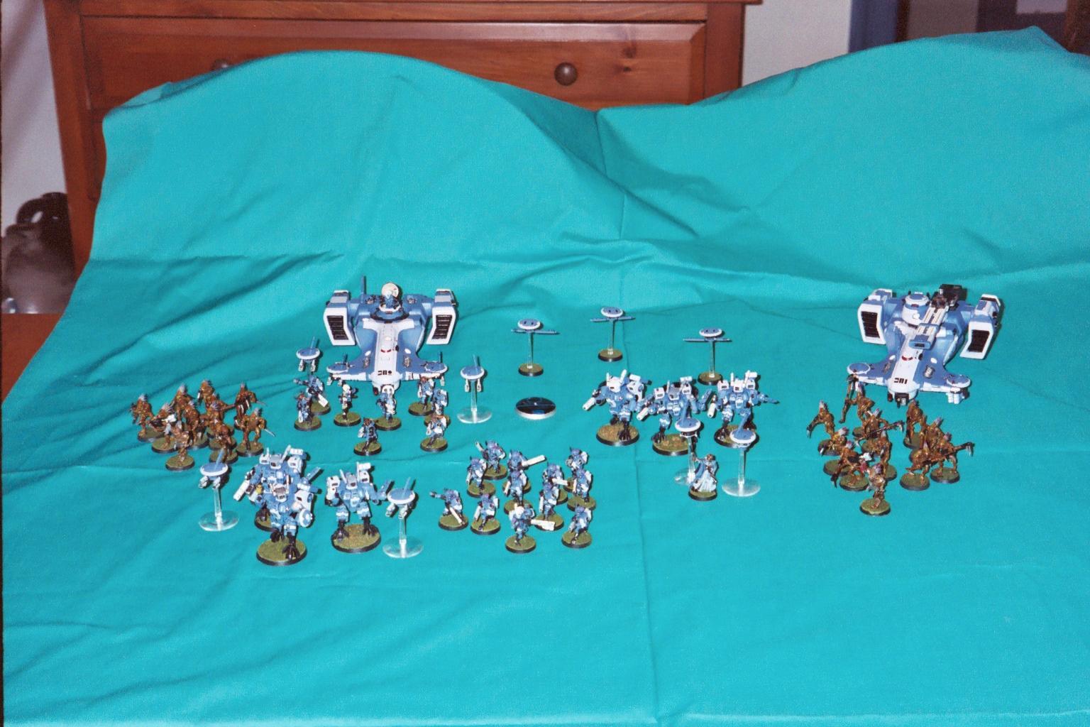 Army, Blue, Tau, Warhammer 40,000