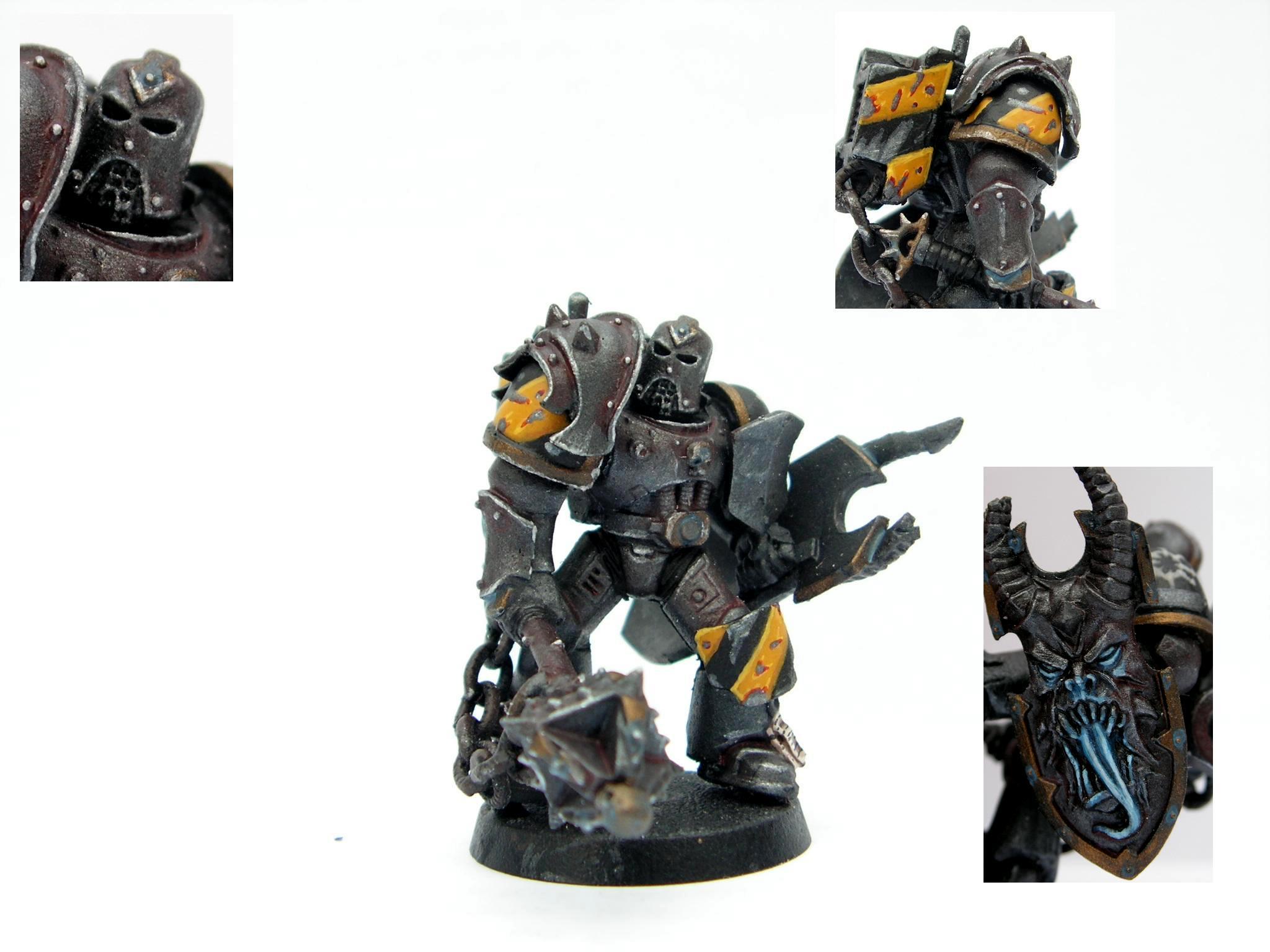 Chaos, Chaos Space Marines, Iron Warriors