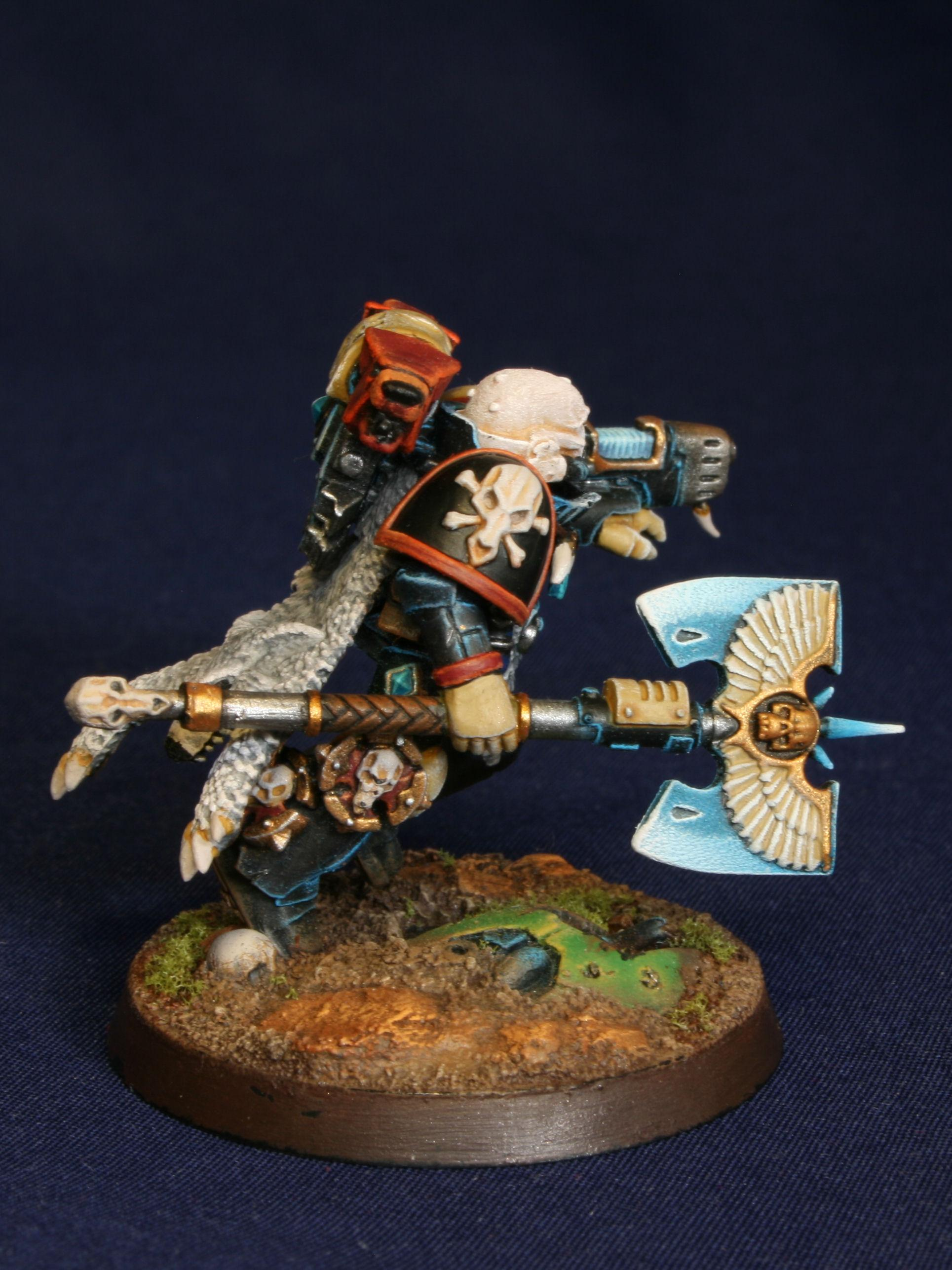 Chaplin, Space Marines, Space Wolves, Wolf Priest