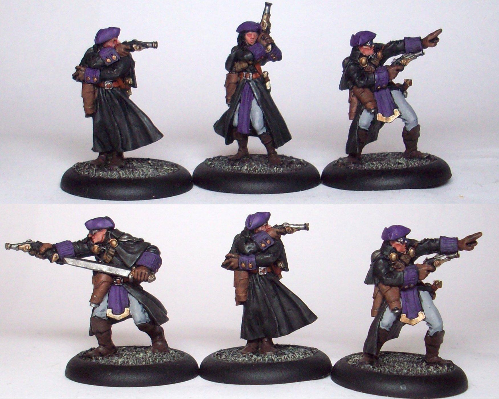 Gun Mages, Mercenary, Warmachine