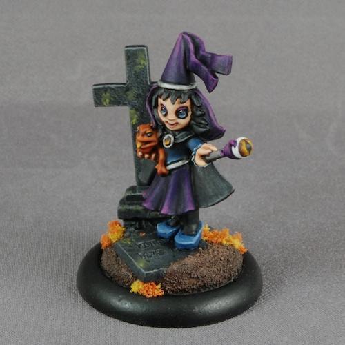 Cute, Witch, Halloween Princess