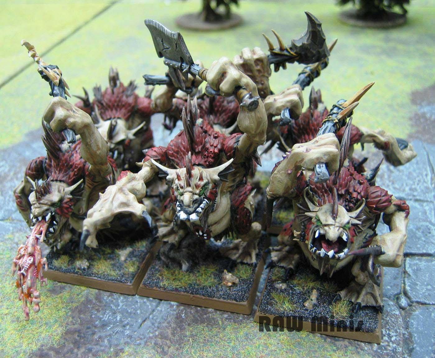 Chaos, Chaos Trolls, Conversion, Painting, Throgg, Troll, Warriors Of Chaos