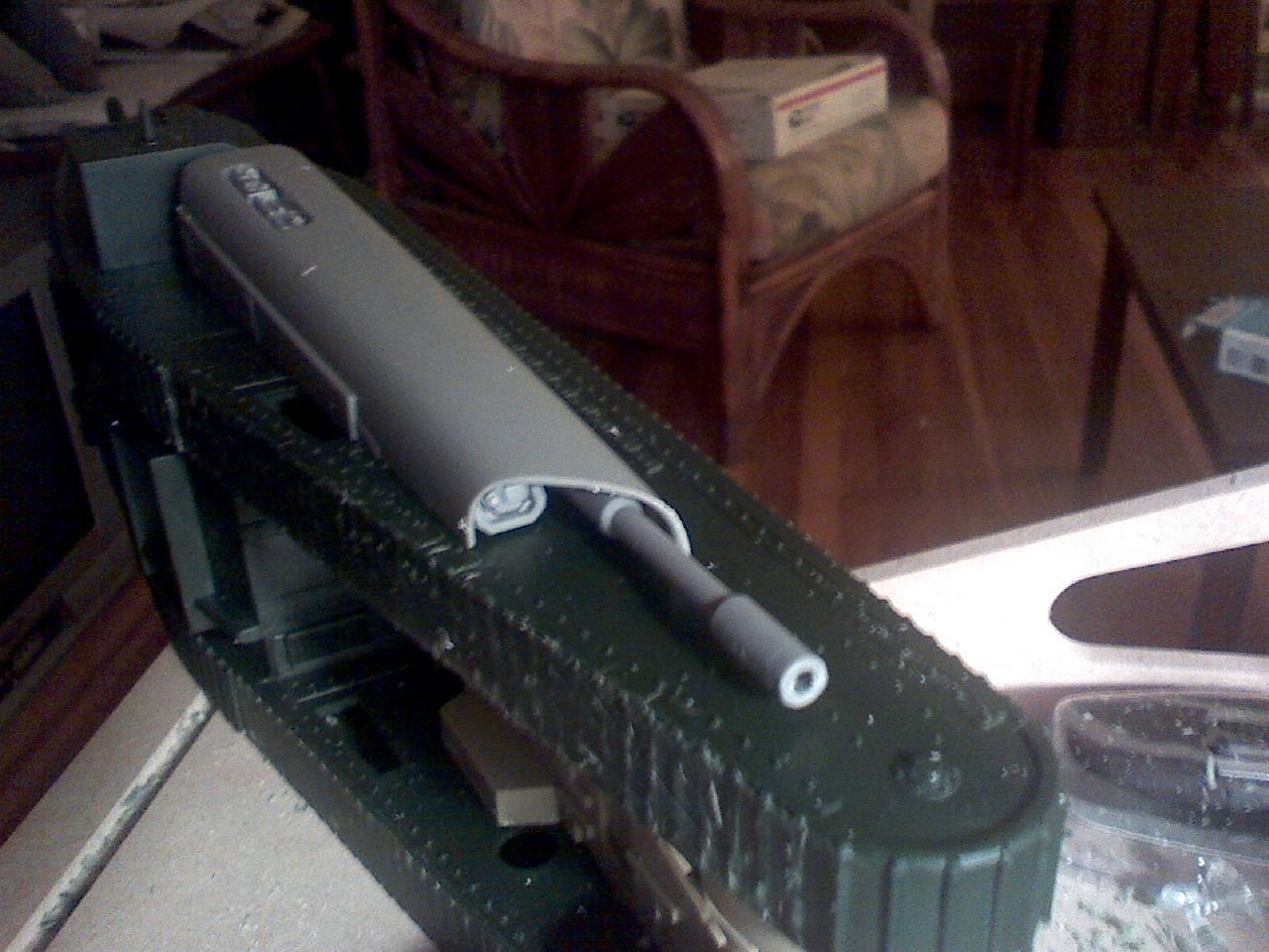 Gun Cutter, Kitbash, Rogue Trader, Warhammer 40,000, Work In Progress
