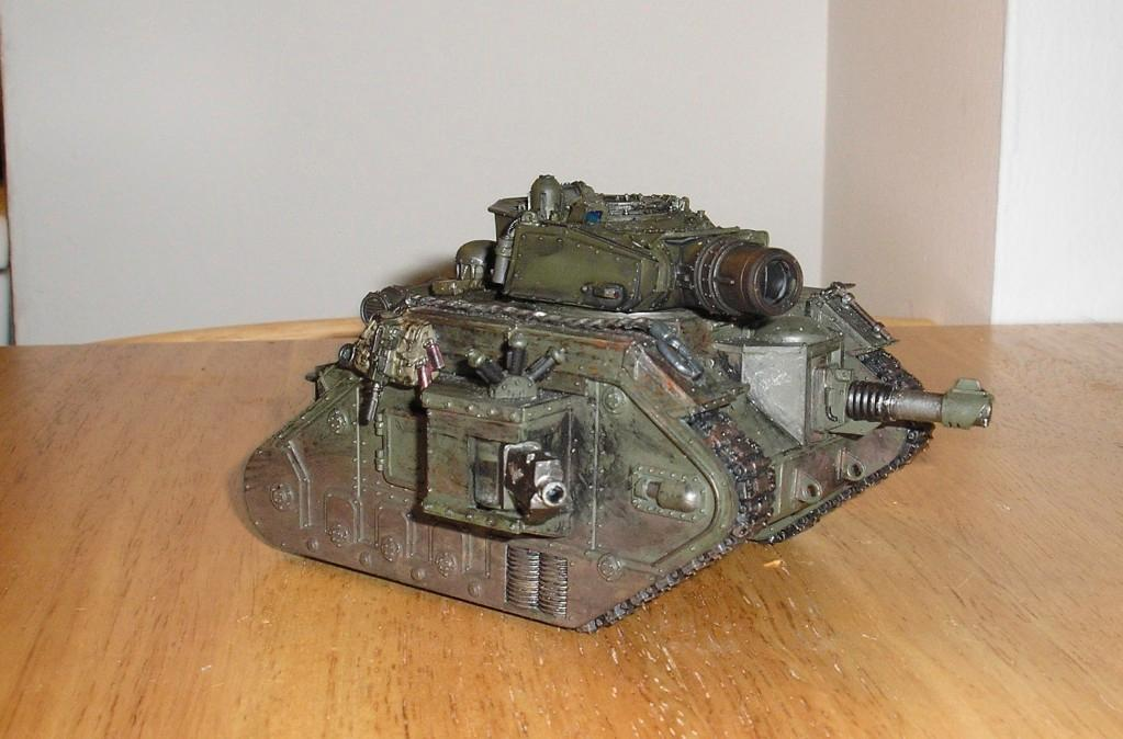 Cadians, Demolisher, Imperial Guard, Leman Russ, Tank, Vietnam