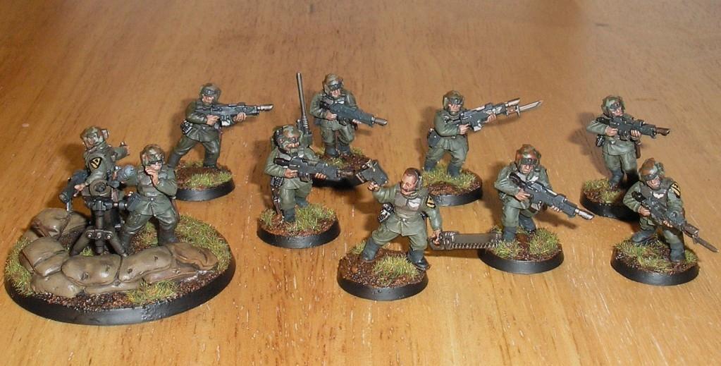 Cadians, Imperial Guard, Vietnam, Warhammer 40,000