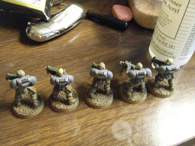 Scouts, Space Marines