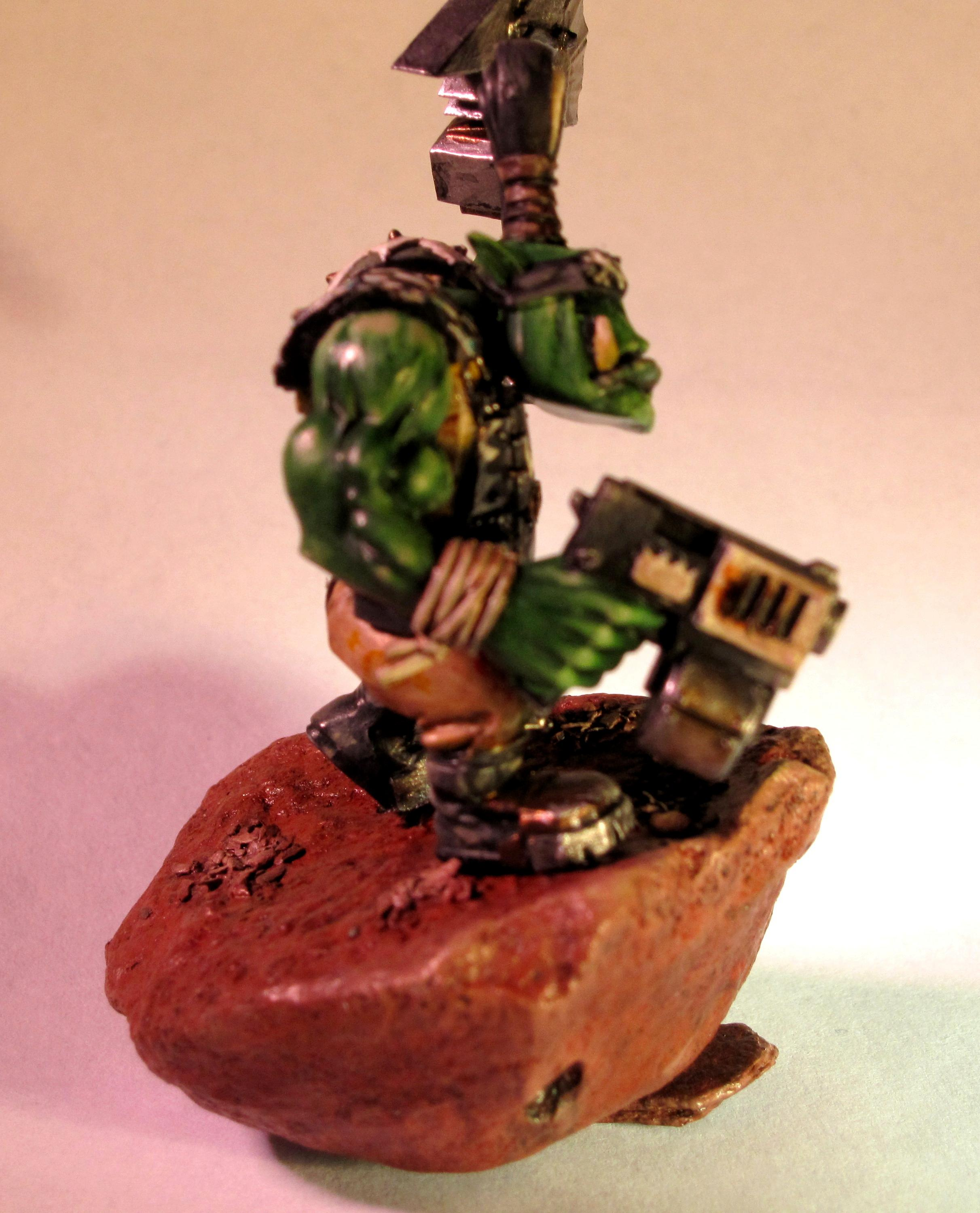 Ork Nob Side View
