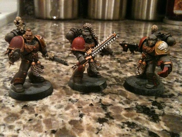 Grey Hunters, Power Fist, Space Wolves