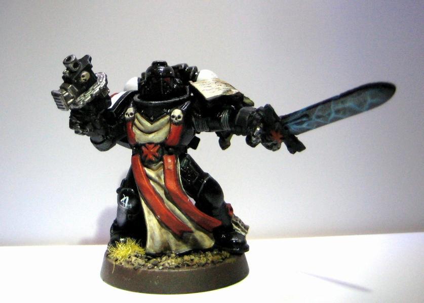 Black Templars, Inititate, Power Sword, Space Marines