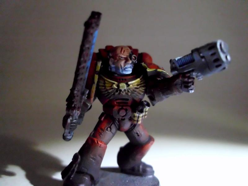 Object Source Lighting, Space Marines