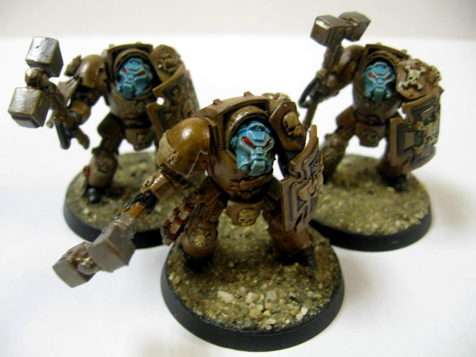 Black And Tan, Desert Theme, Terminator Assault Squad