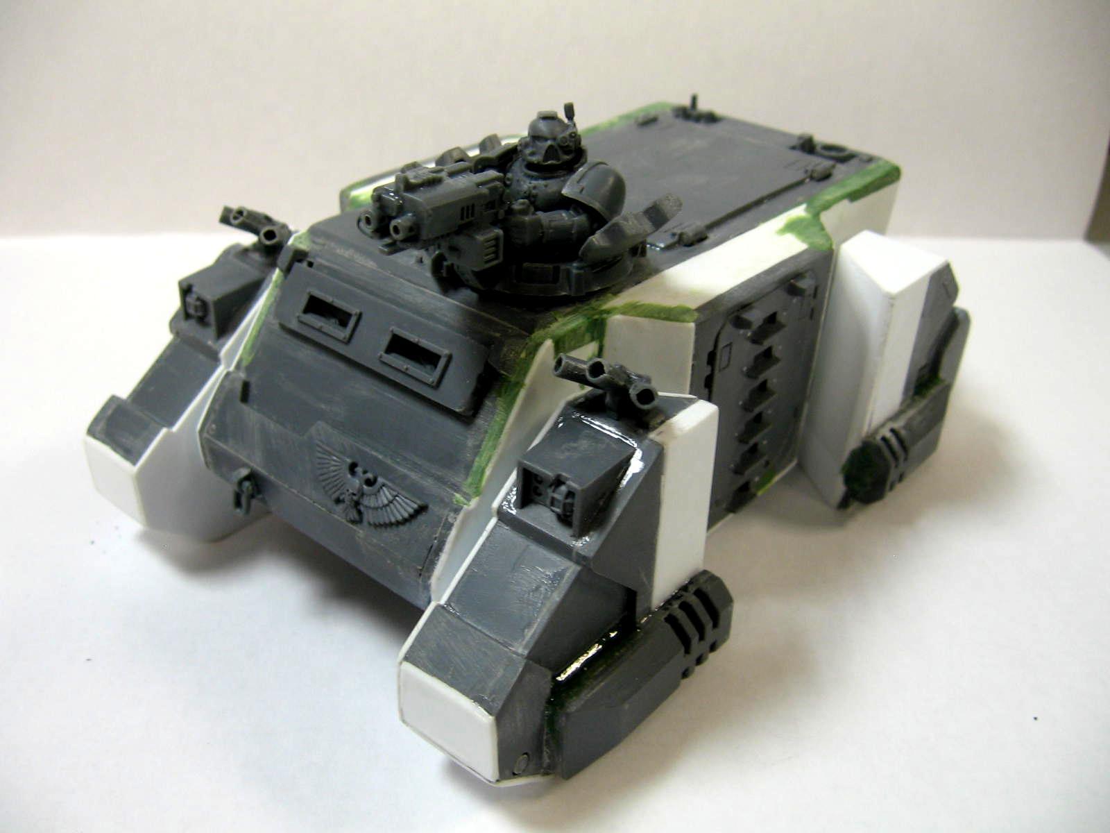 Conversion, Hover Tank, Rhino, Shadowbraekers