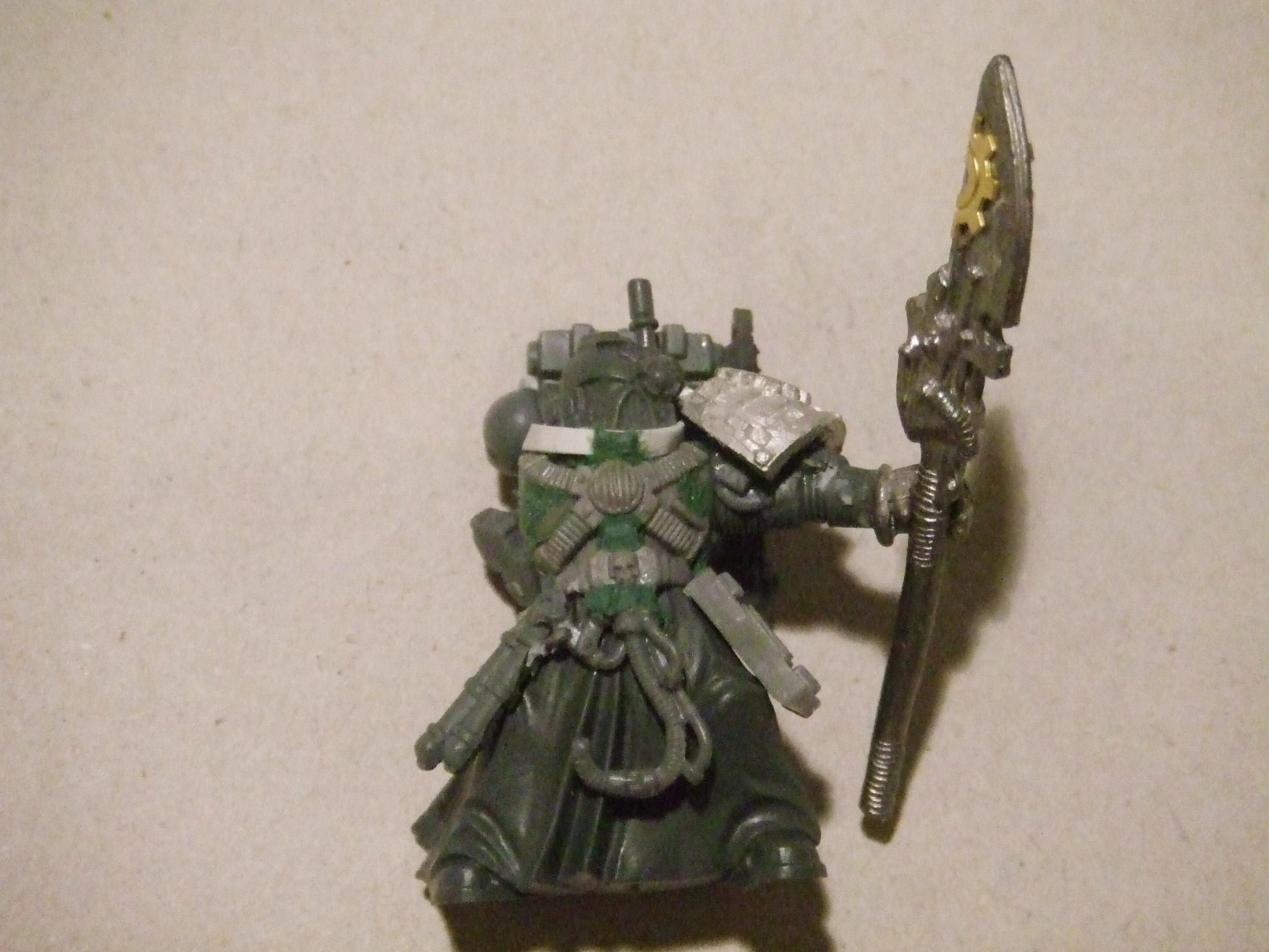 Master Of The Forge, Mentor Legion, Space Marines, Techmarine, Work In Progress