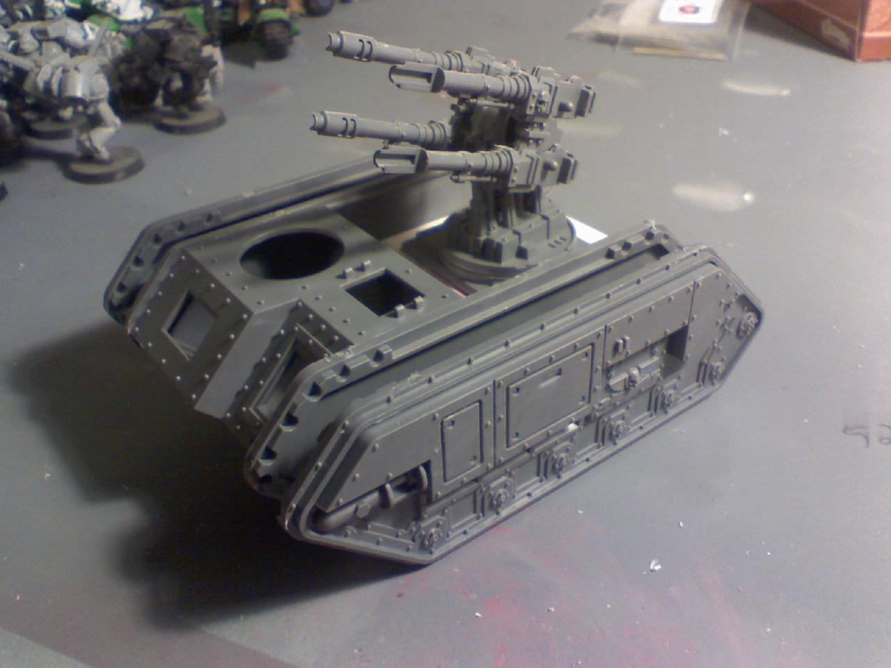 Chimera, Conversion, Hydra, Imperial Guard, Warhammer 40,000, Work In Progress