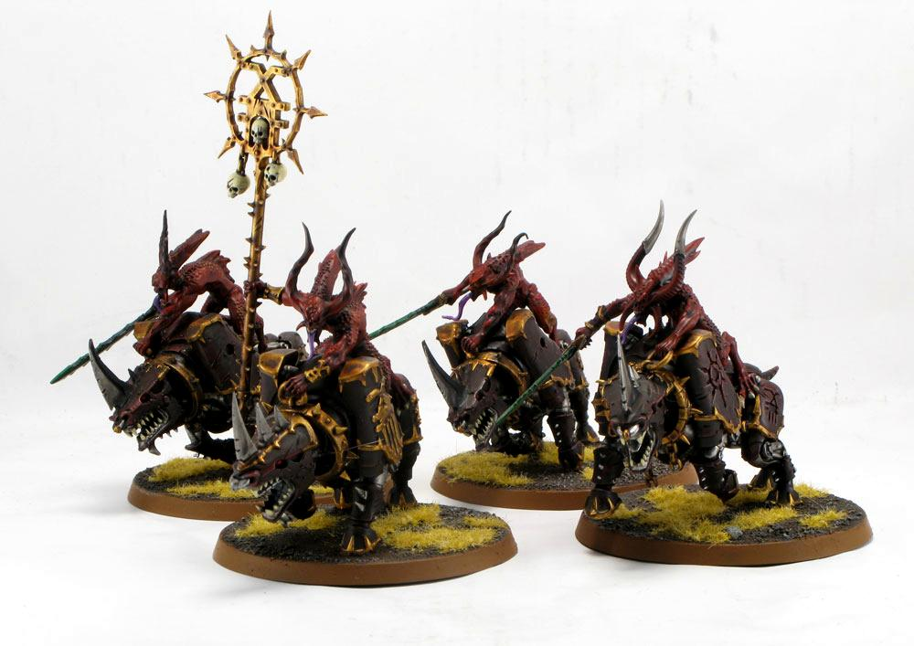 92acclude, Bloodcrushers, Chaos, Daemons
