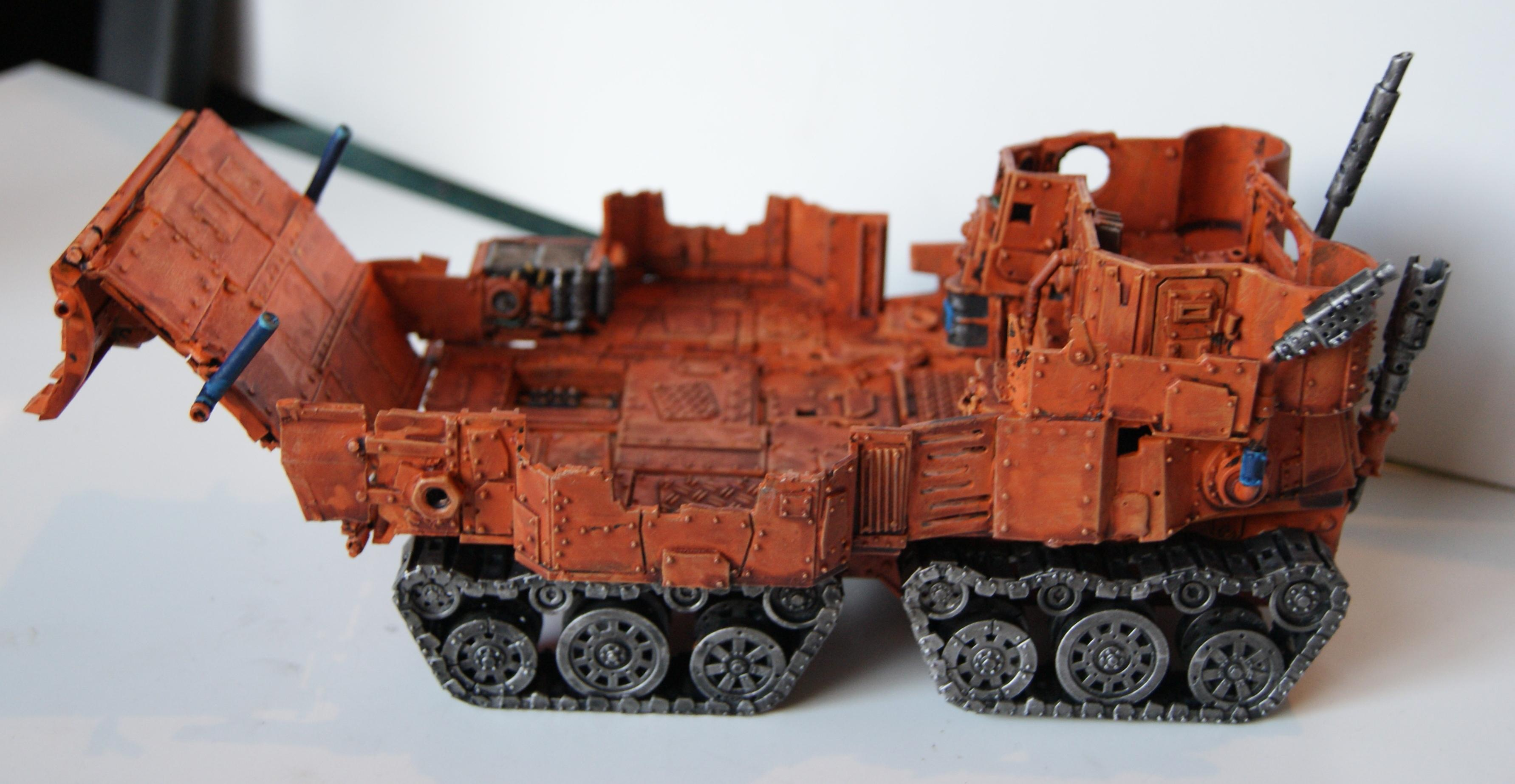Battlewagon, Conversion, Grot Rebellion, Grot Rebels, Warhammer 40,000, Wi