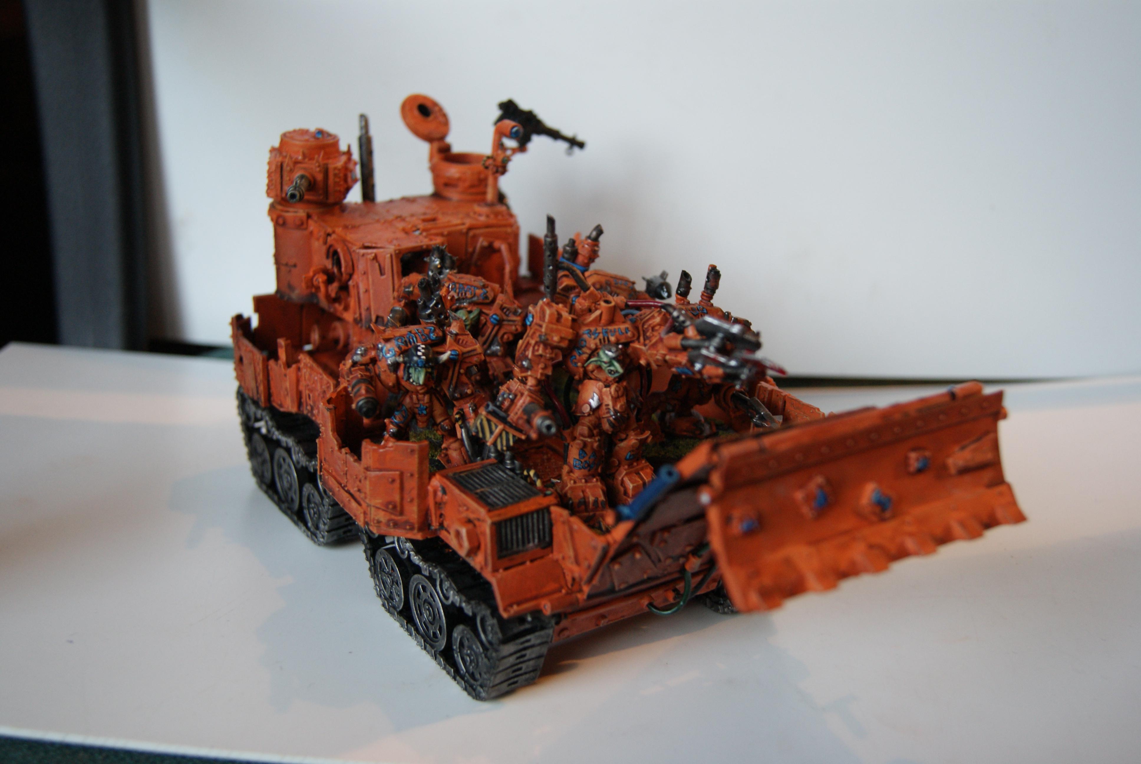 Battlewagon, Conversion, Grot Rebellion, Grot Rebels, Warhammer 40,000, Wi