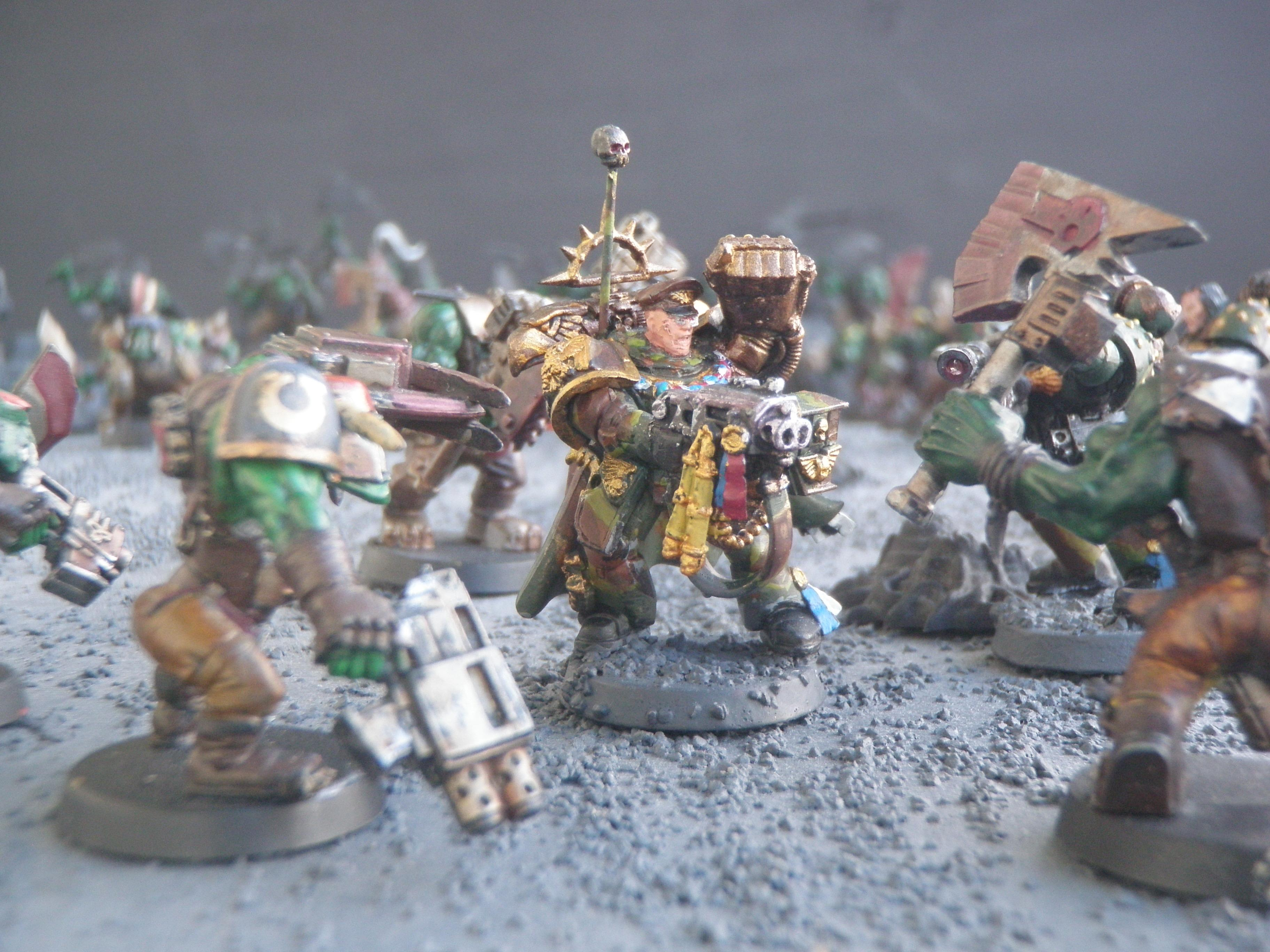 Camouflage, Heavy Bolter, Power Fist