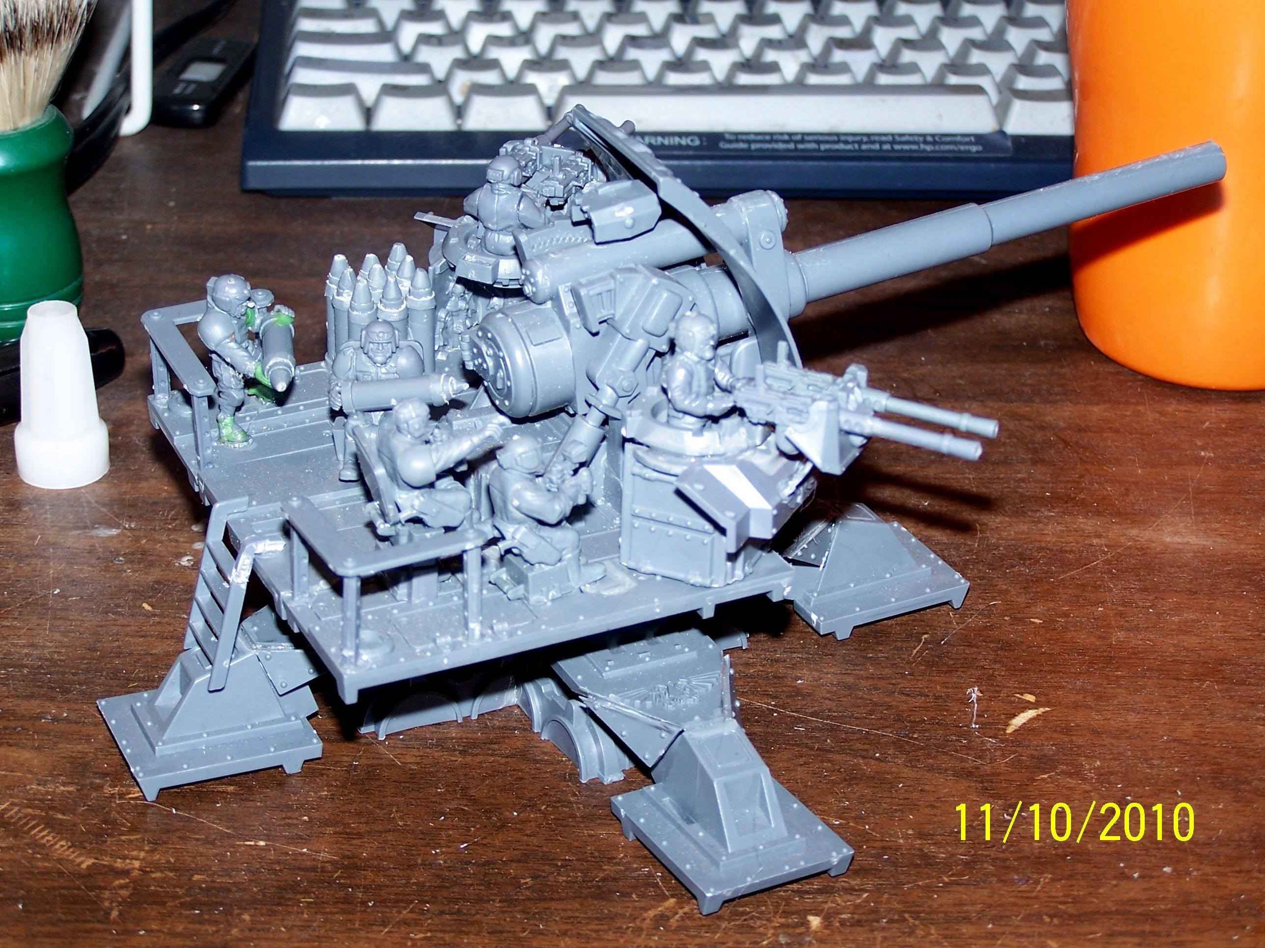 Artillery, Basilisk, Imperial Guard, Warhammer 40,000