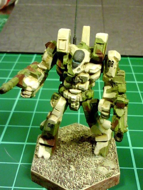 Antenna, Battletech, Camouflage, Cbt, Mecha