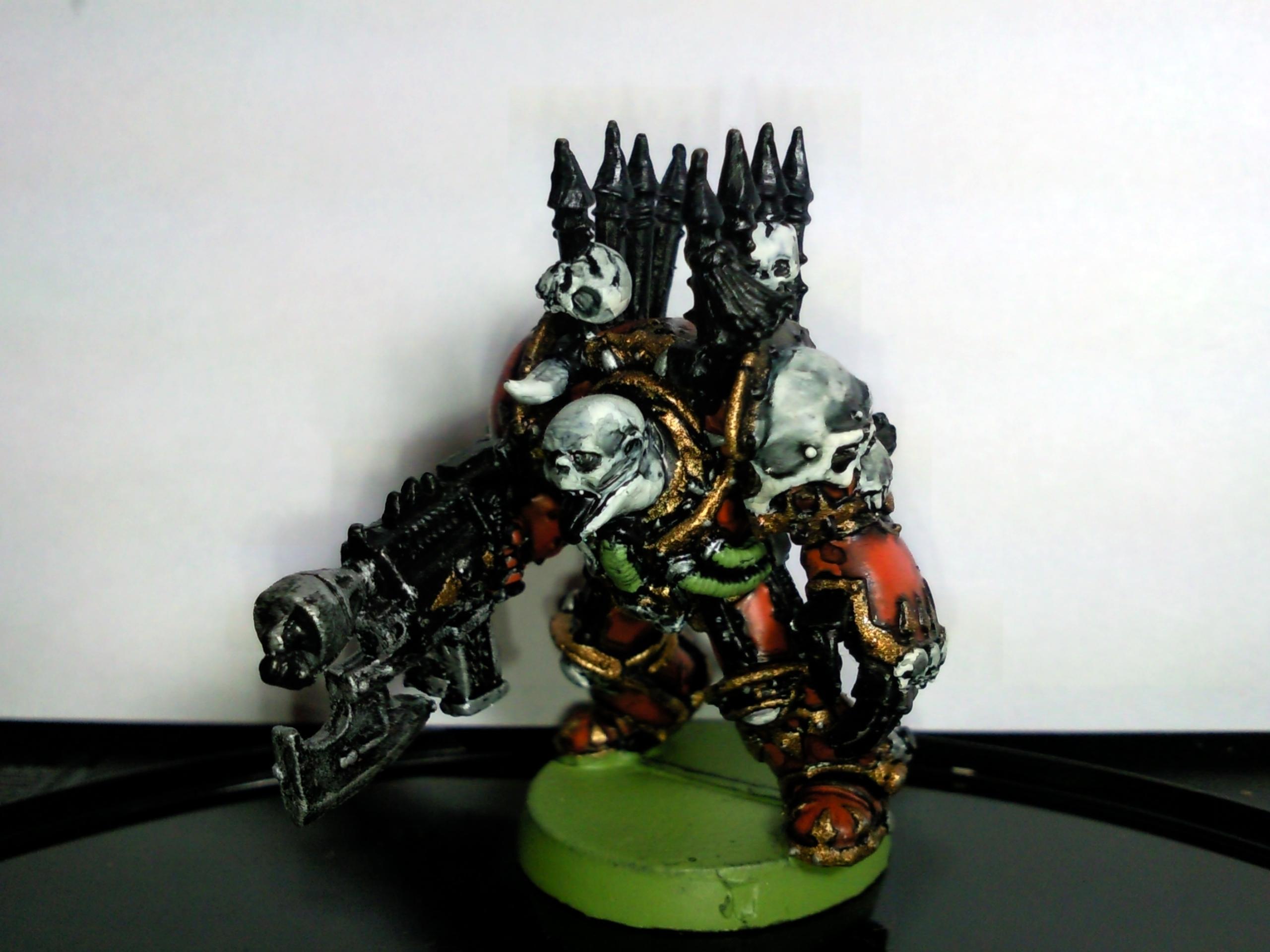 Army  Chaos  Chaos Space Marines  Conversion  Terminator