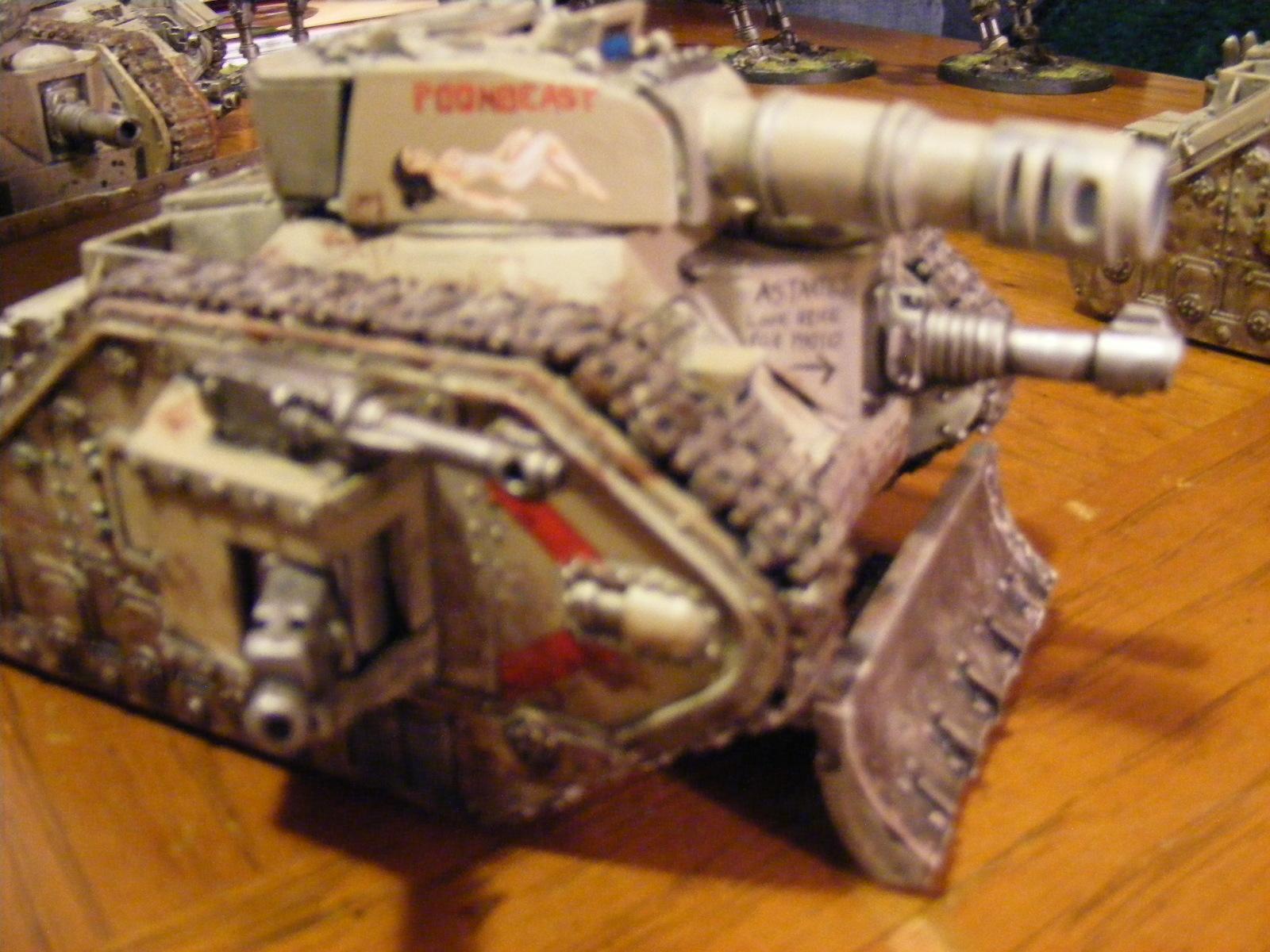 Blurred Photo, Imperial Guard, Leman Russ, Tank