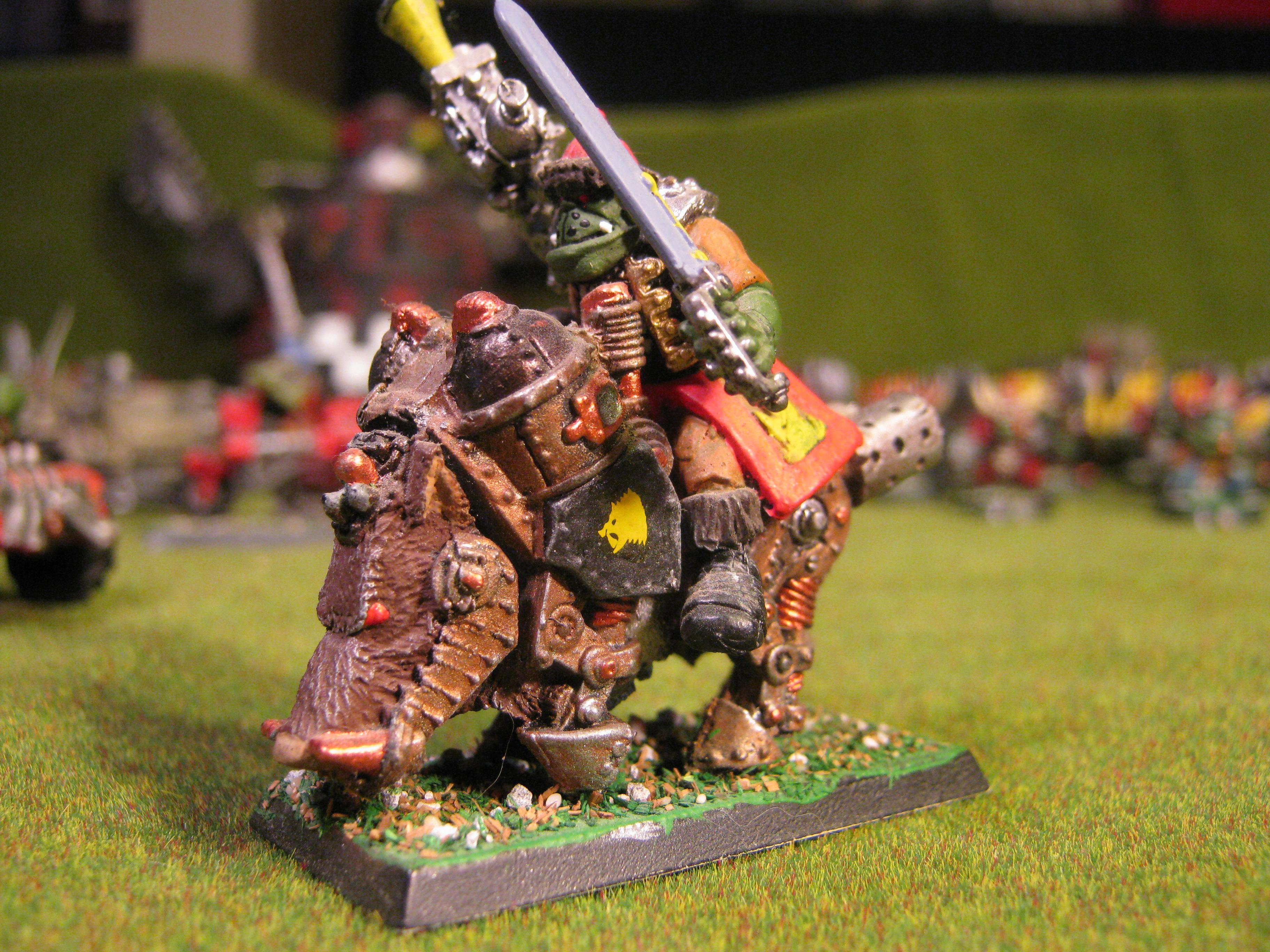 Cyboar, Orks, Special Character