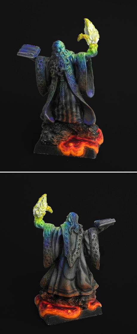 Egg, Fire, Lava, Object Source Lighting, Ral Partha, Wizard