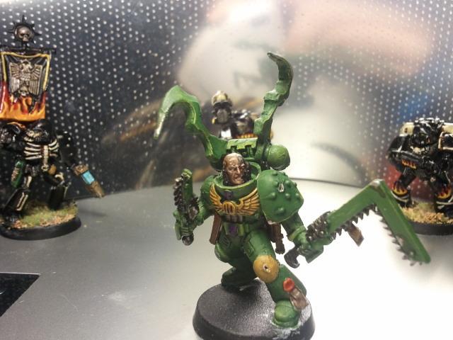 Conversion, Mantis Warriors, Space Marines