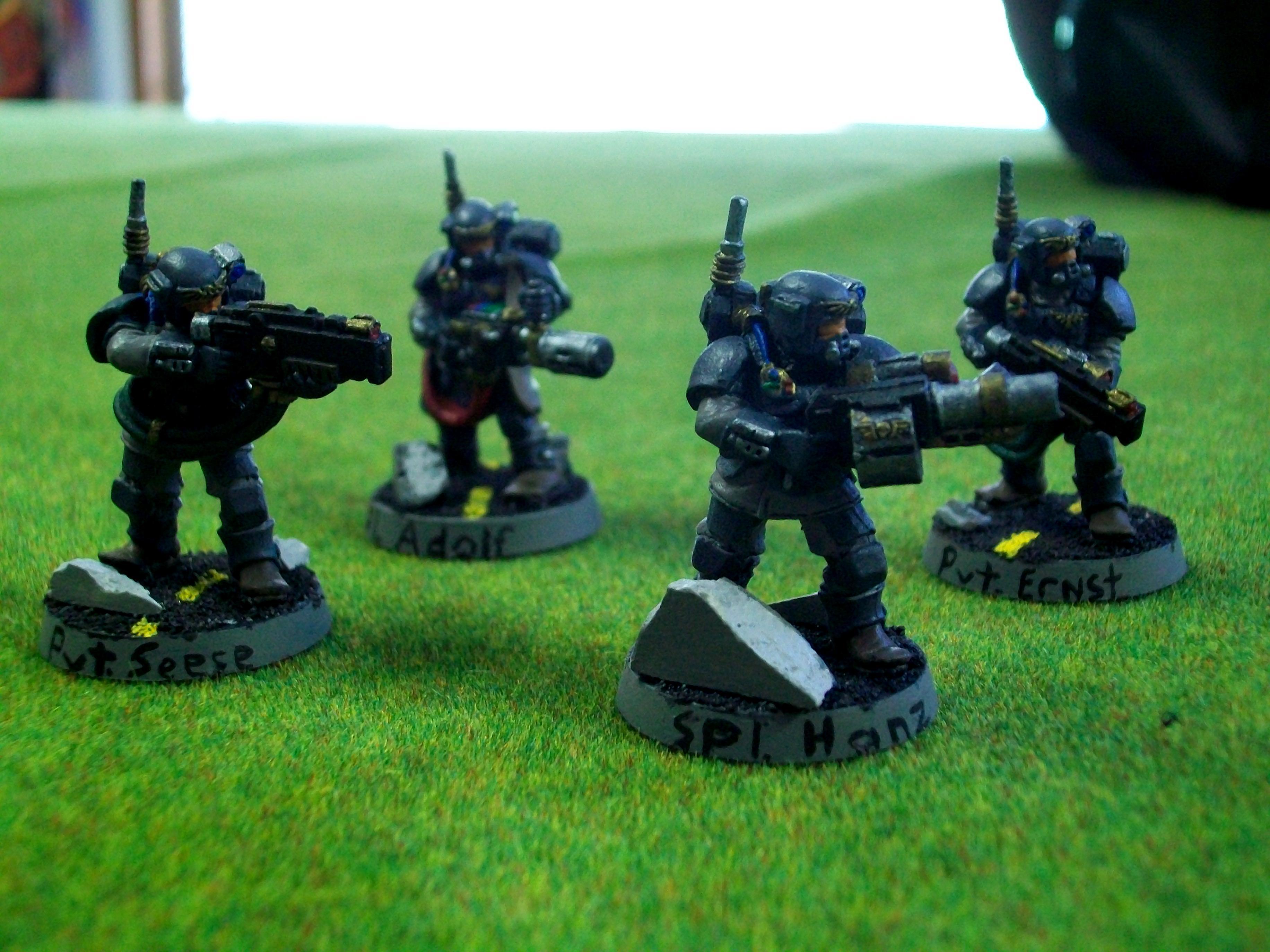 IG Vets 1 Grenade Launcher 1 Meltagun
