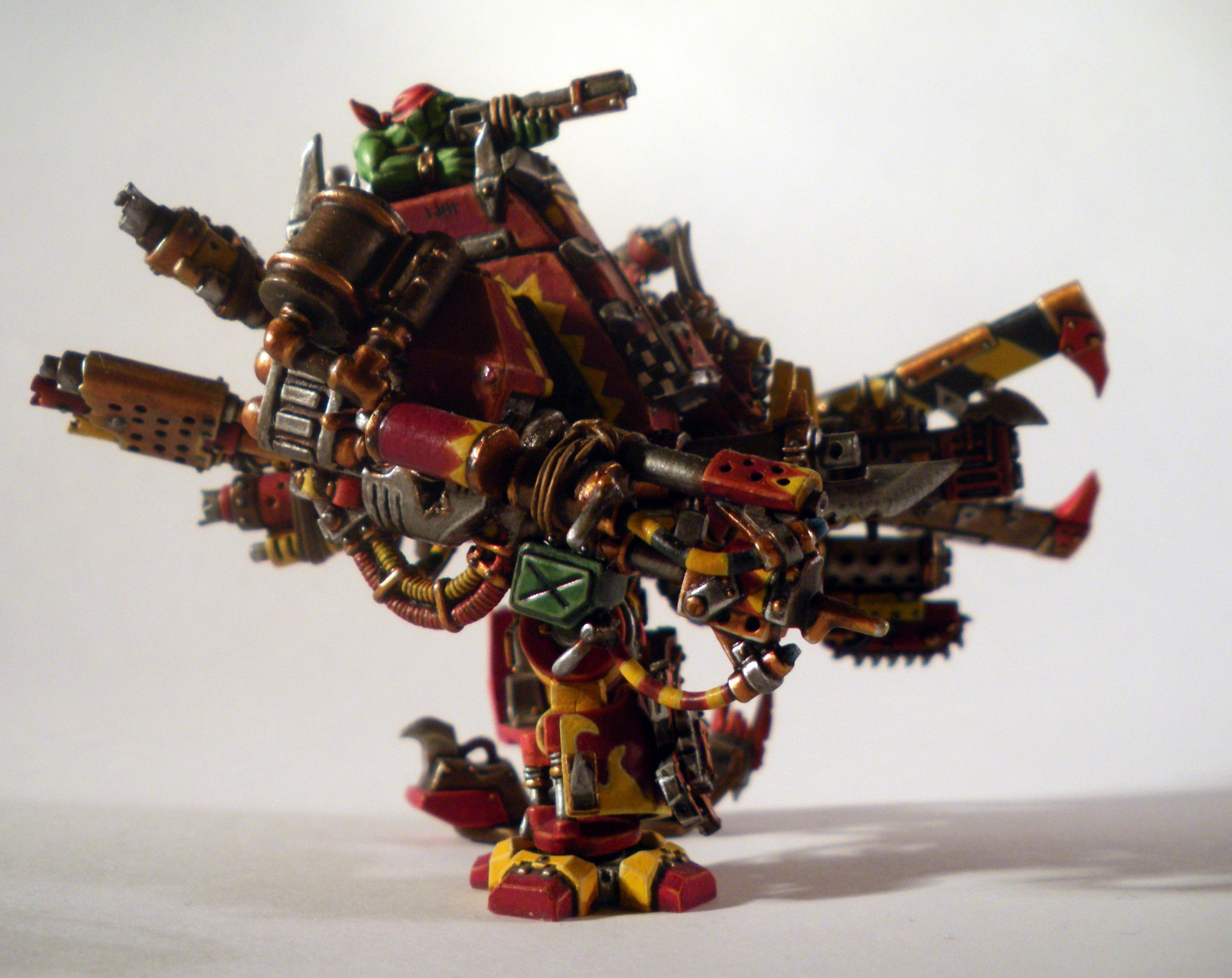 Conversion, Death, Deff, Dreadnought, Dred, Looted, Orks