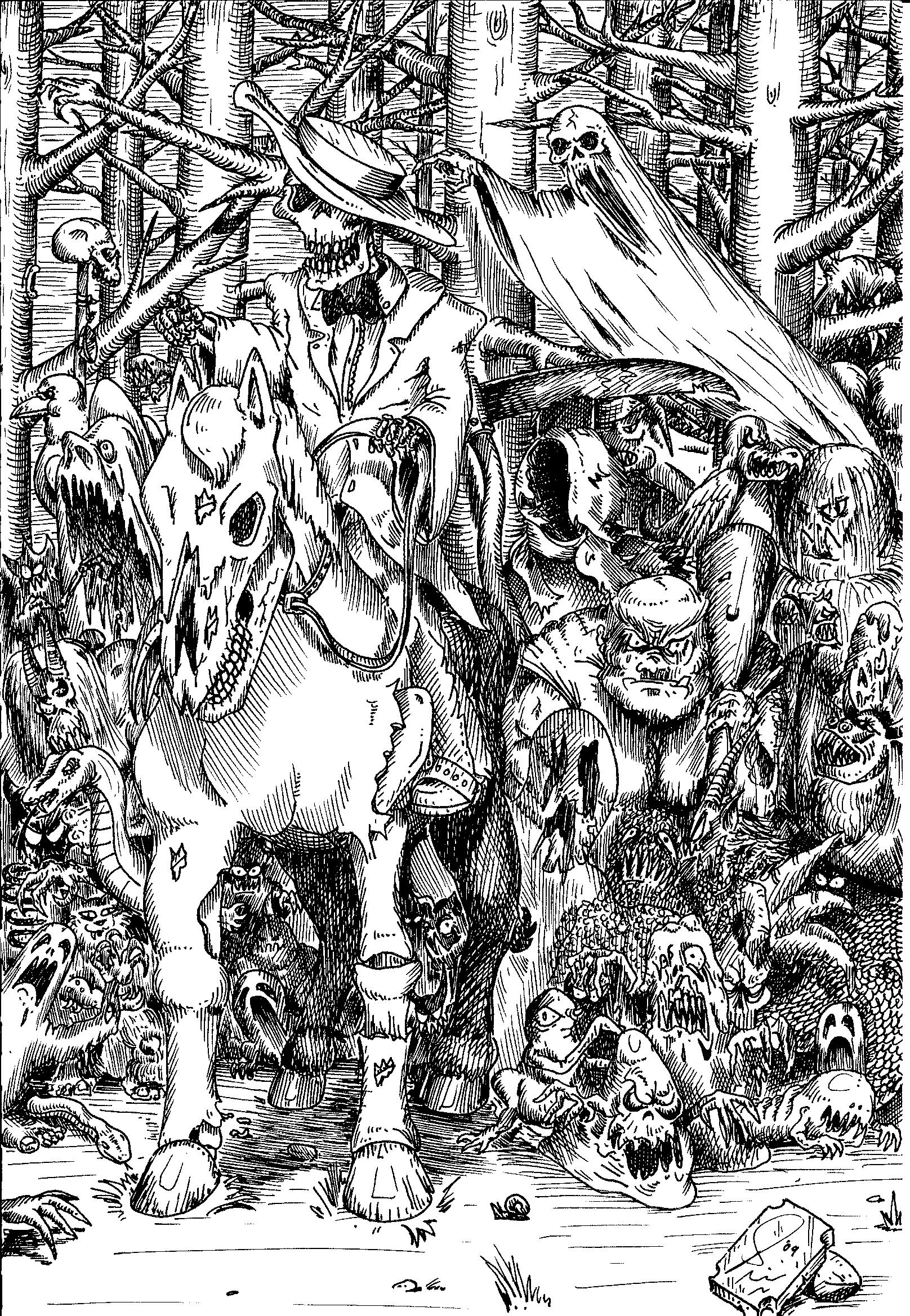Albrecht Dürer, Artwork, Chaos, Conversion, Daemons, Drawing, Drawings, Old, School, Space Marines, Style