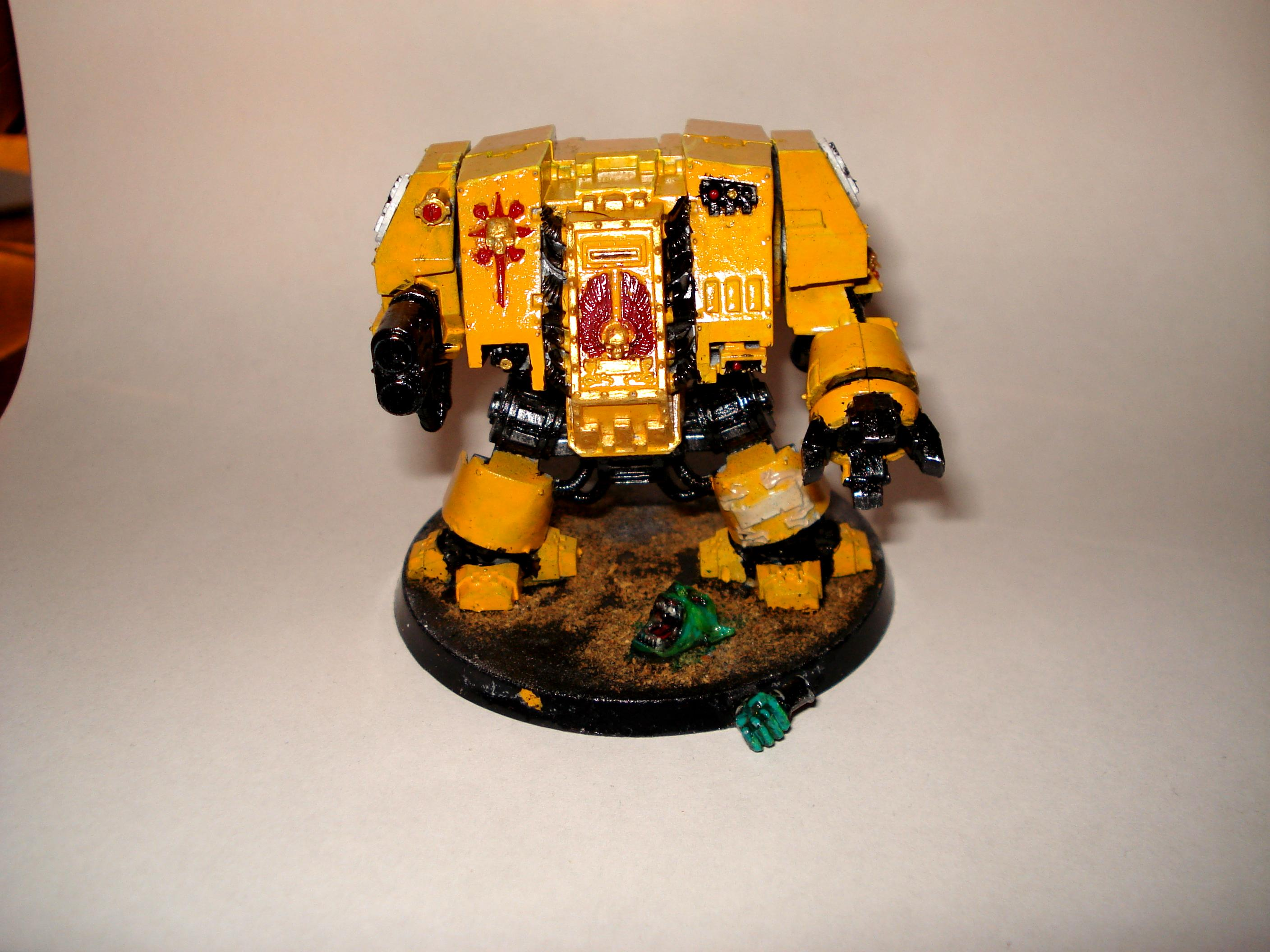 Dreadnought, Imperial Fists, Space Marines