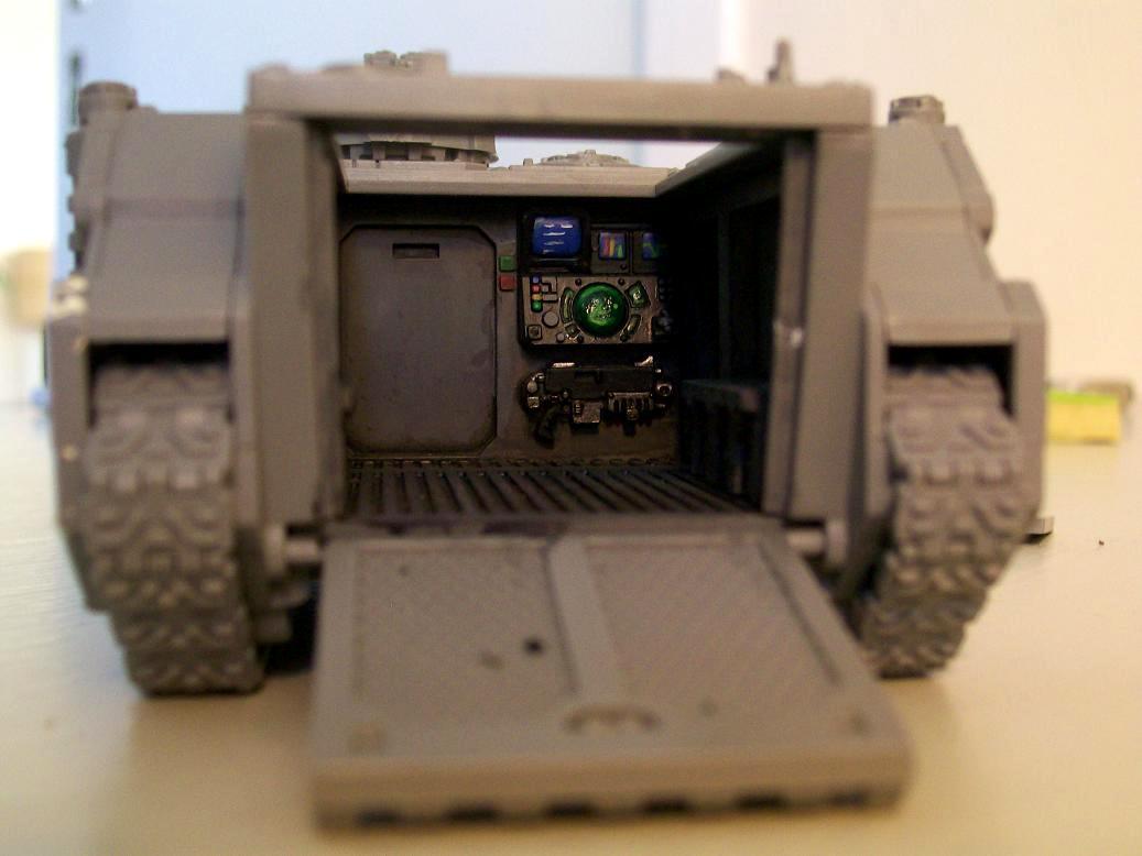 Rhino, Space Marines, Space Wolves, Warhammer 40,000, Work In Progress