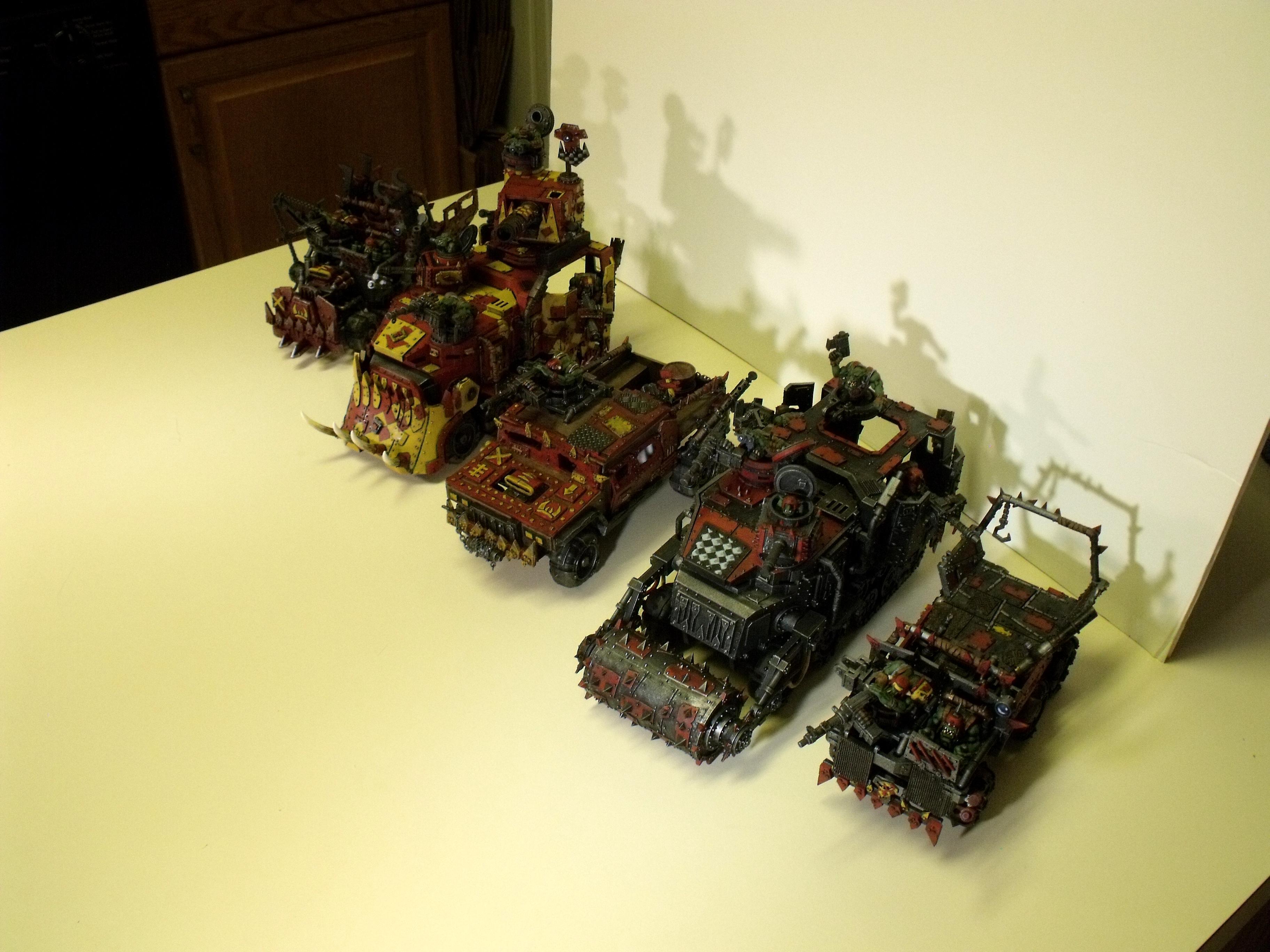Battlewagon, Orks, Trukk