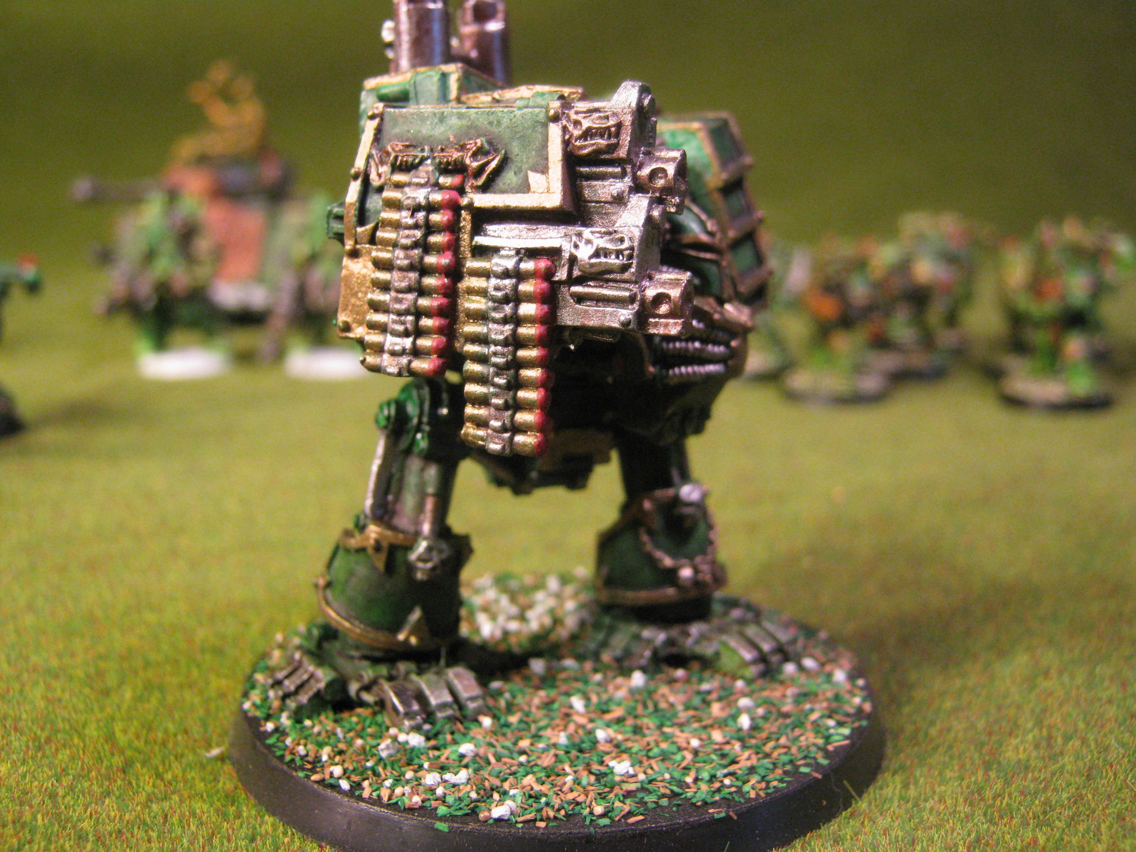 Chaos Dreadnought, Chaos Space Marines, Death Guard, Nurgle, Plague Marines, Warhammer 40,000