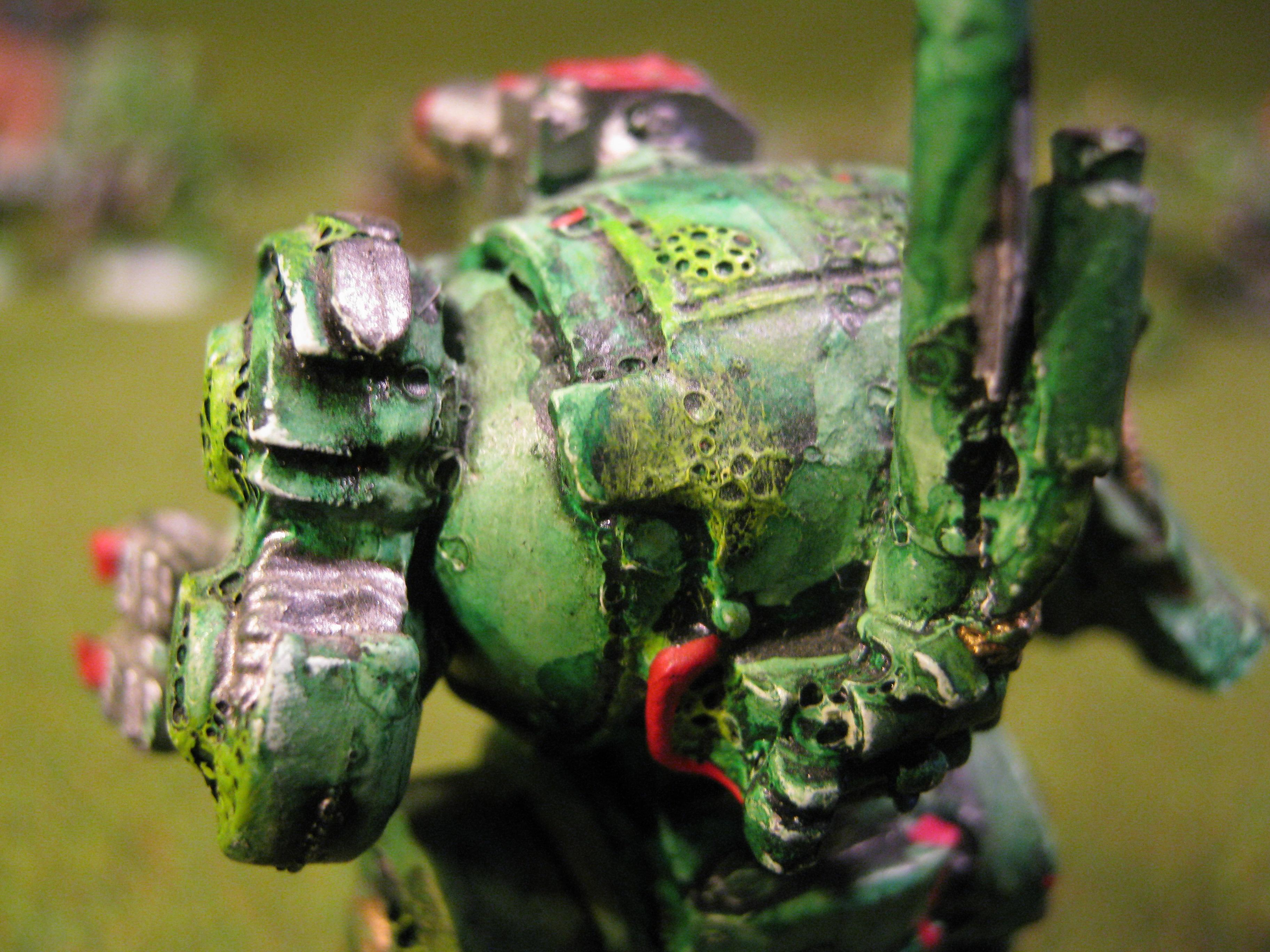 Chaos, Chaos Dreadnought, Chaos Space Marines, Death Guard, Nurgle, Out Of Production, Plague Marines, Rogue Trader, Warhammer 40,000