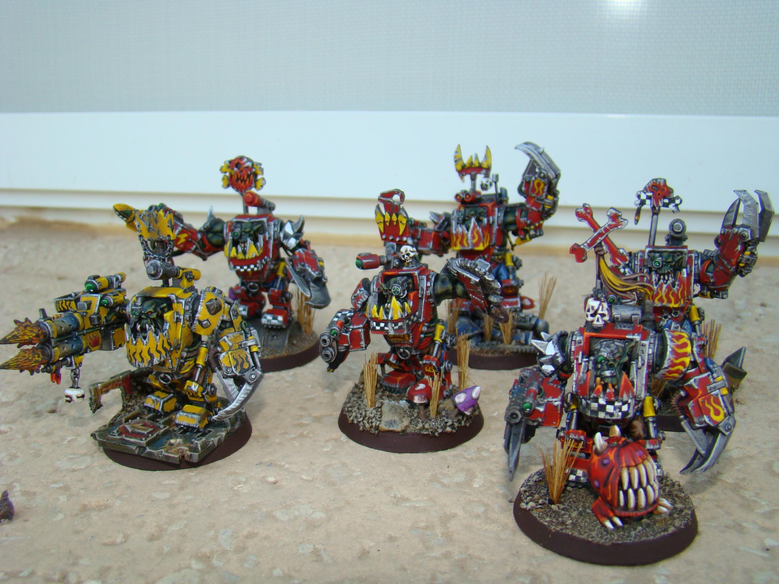 Mega Armor, Nob, Orks