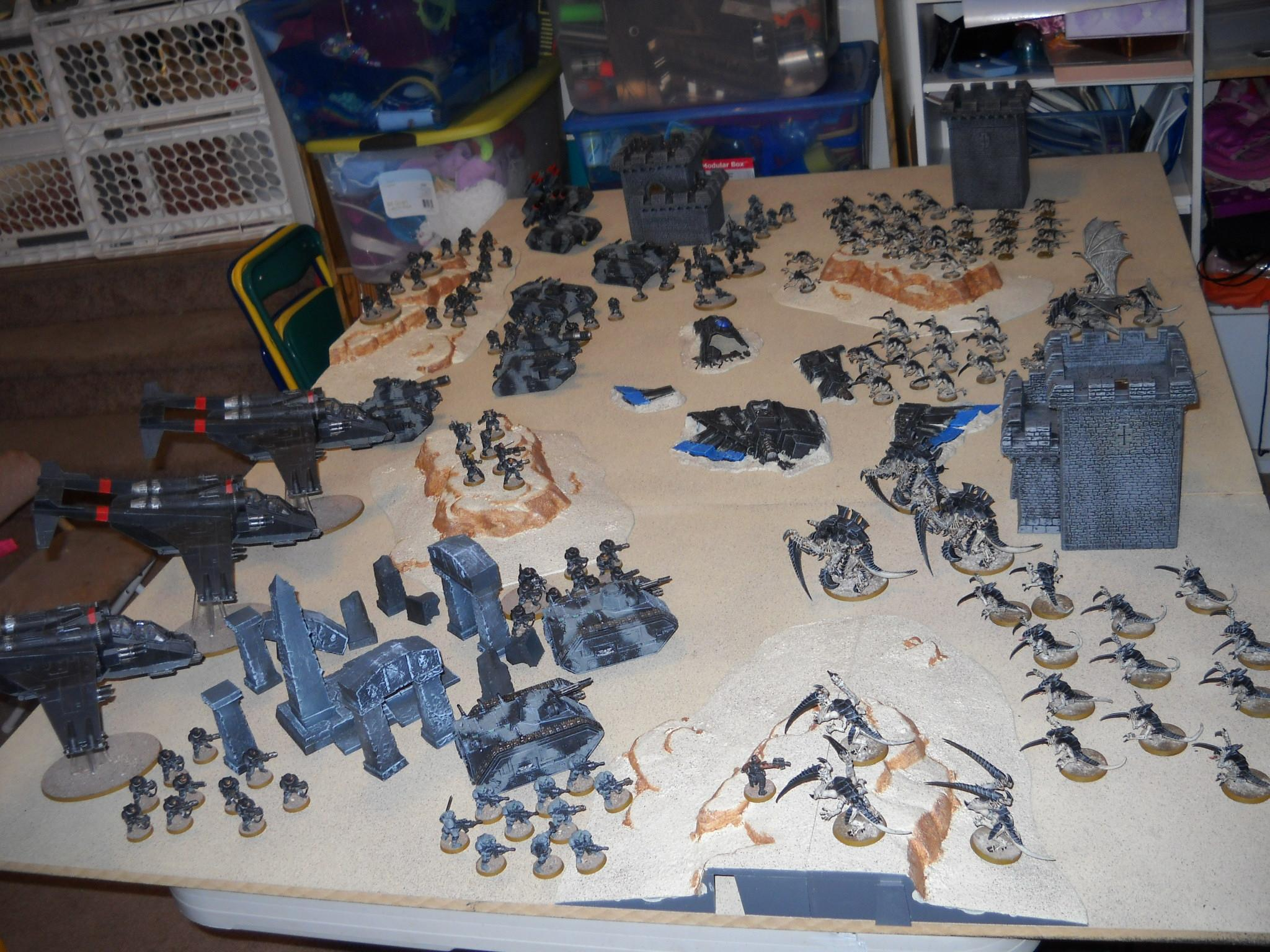 Battle Report, Imperial Guard, Tyranids