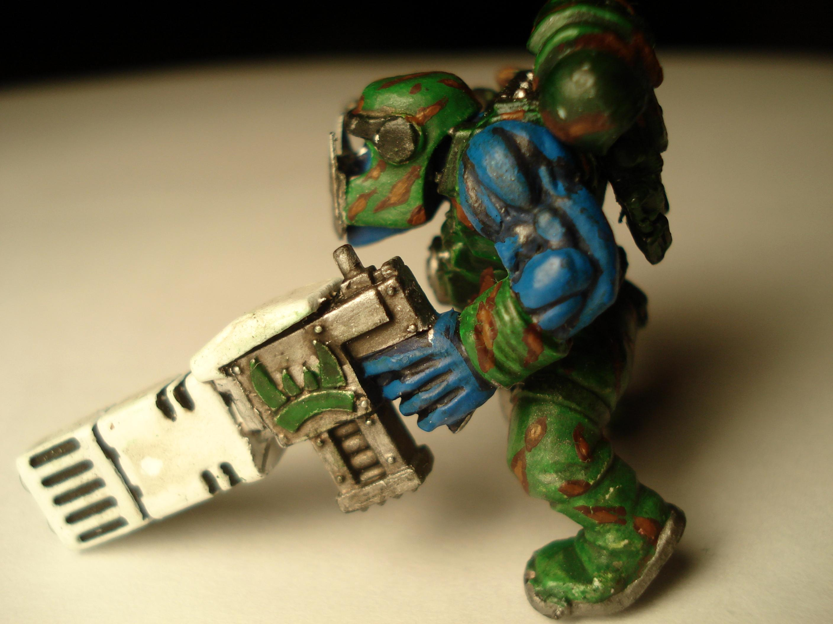 Boy, Great Marine Swap, Lootas, Orks