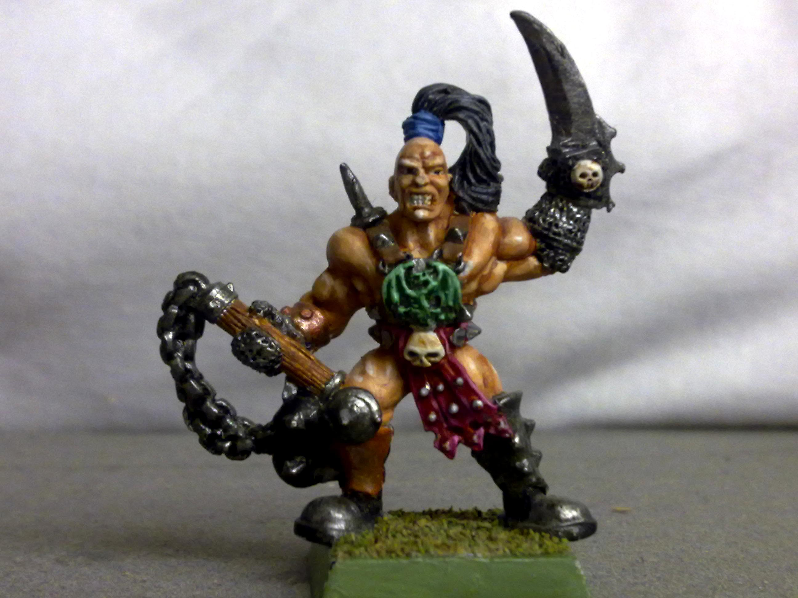 Fighter, Flail, Mean, Pit, Pitt, Quest, Spiked, Warhammer Fantasy