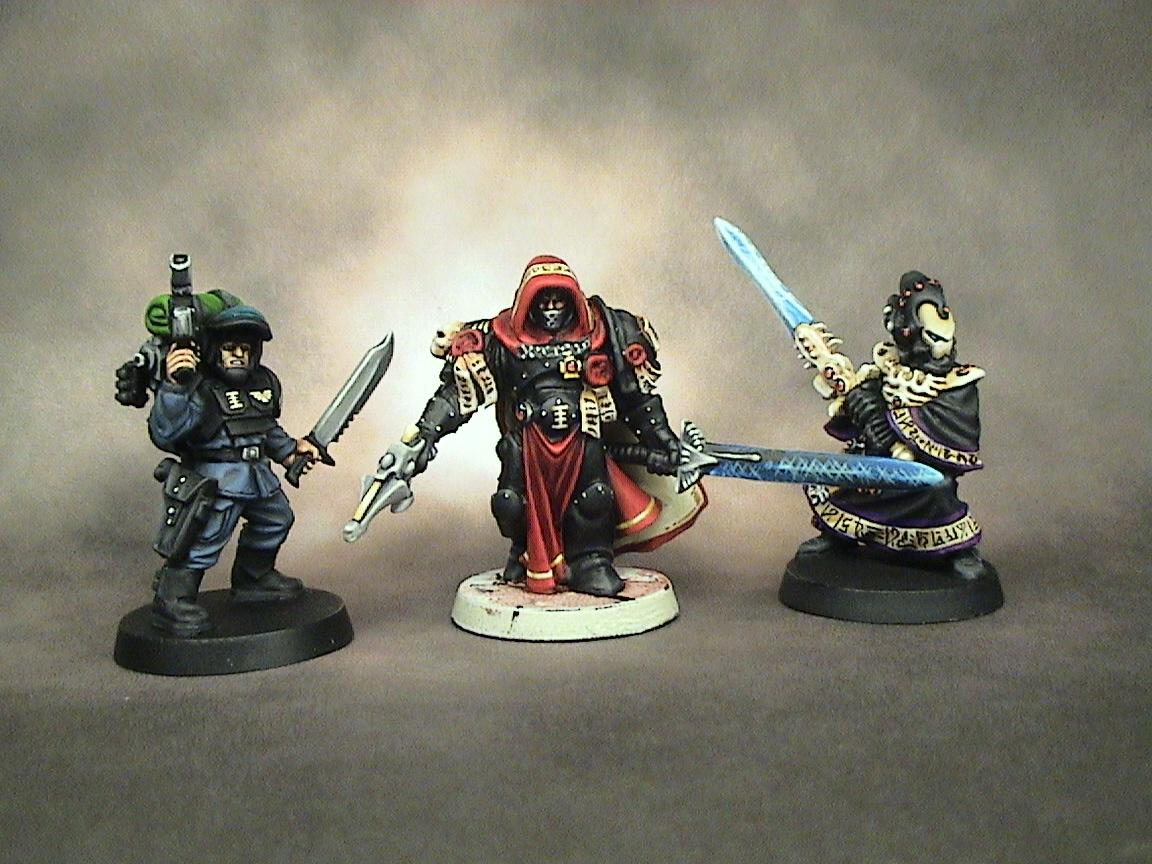 =][=munda, Imperial Guard, Inquisition, Inquisitor, Quarter Master, Warhammer 40,000