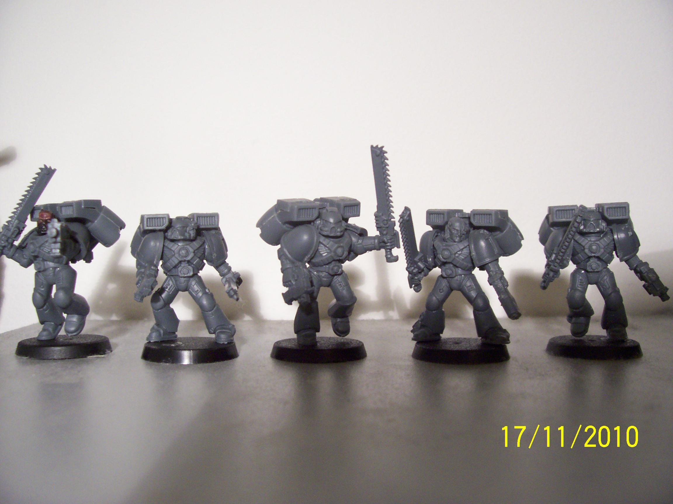 Assault Marines, Jump Pack, Space Marines