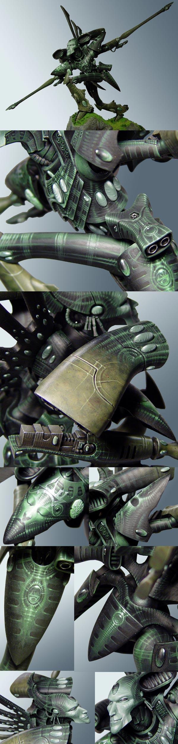 Apocalypse, Eldar, Forge World, Painted, Phantom, Titan, Warhammer 40,000